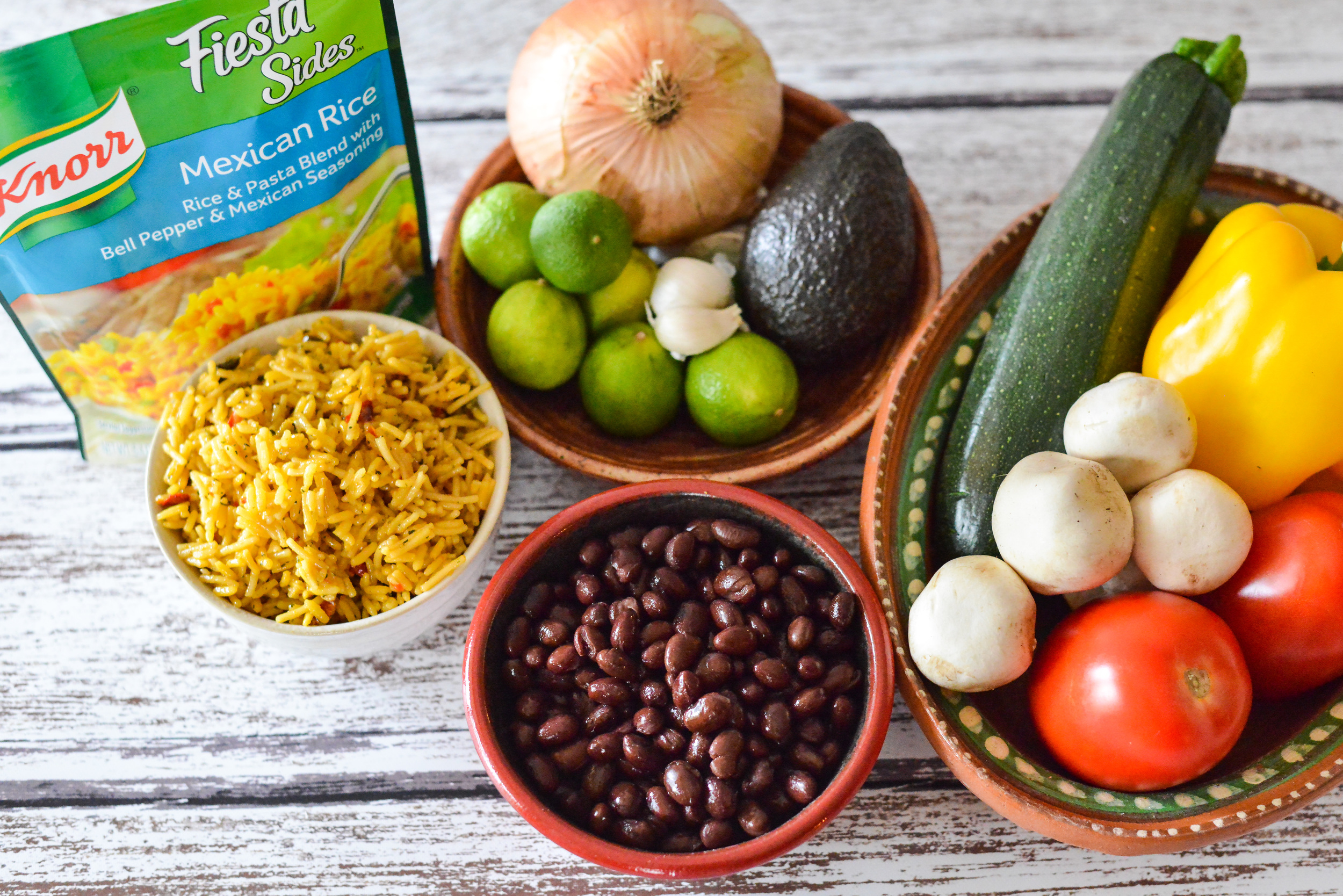 Southwest Mexican Skillet ingredients