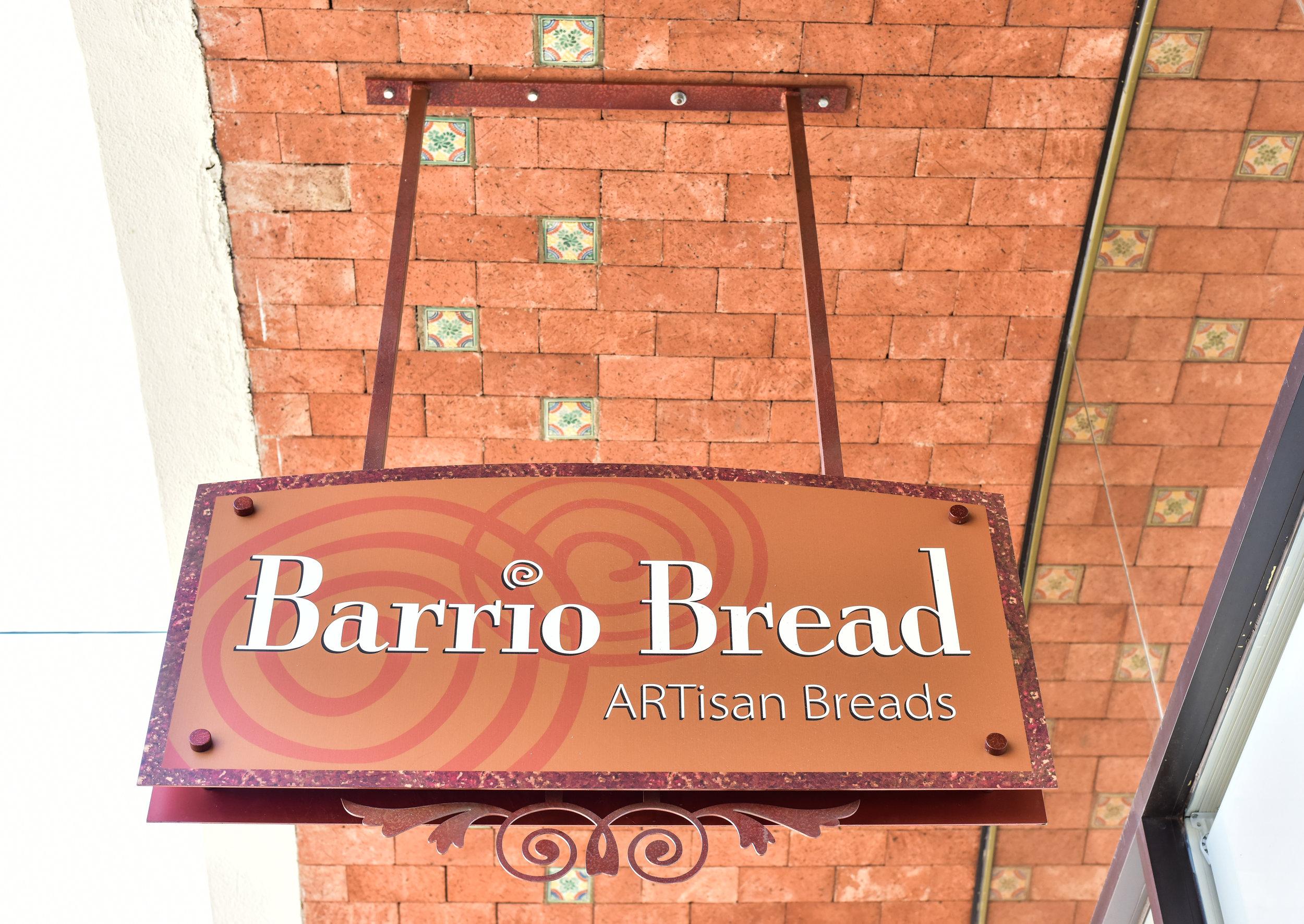 Barrio Bread Bakery sign