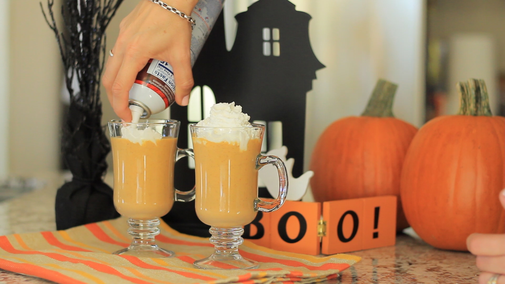 Everyone's favorite seasonal treat.Pumpkin Spice Shakes are quick and fun to make--and they aren't only for fall season!