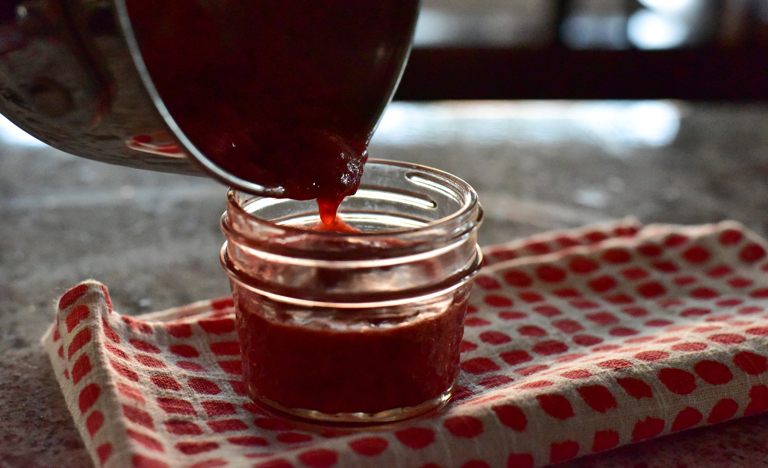 Strawberry Orange Compote