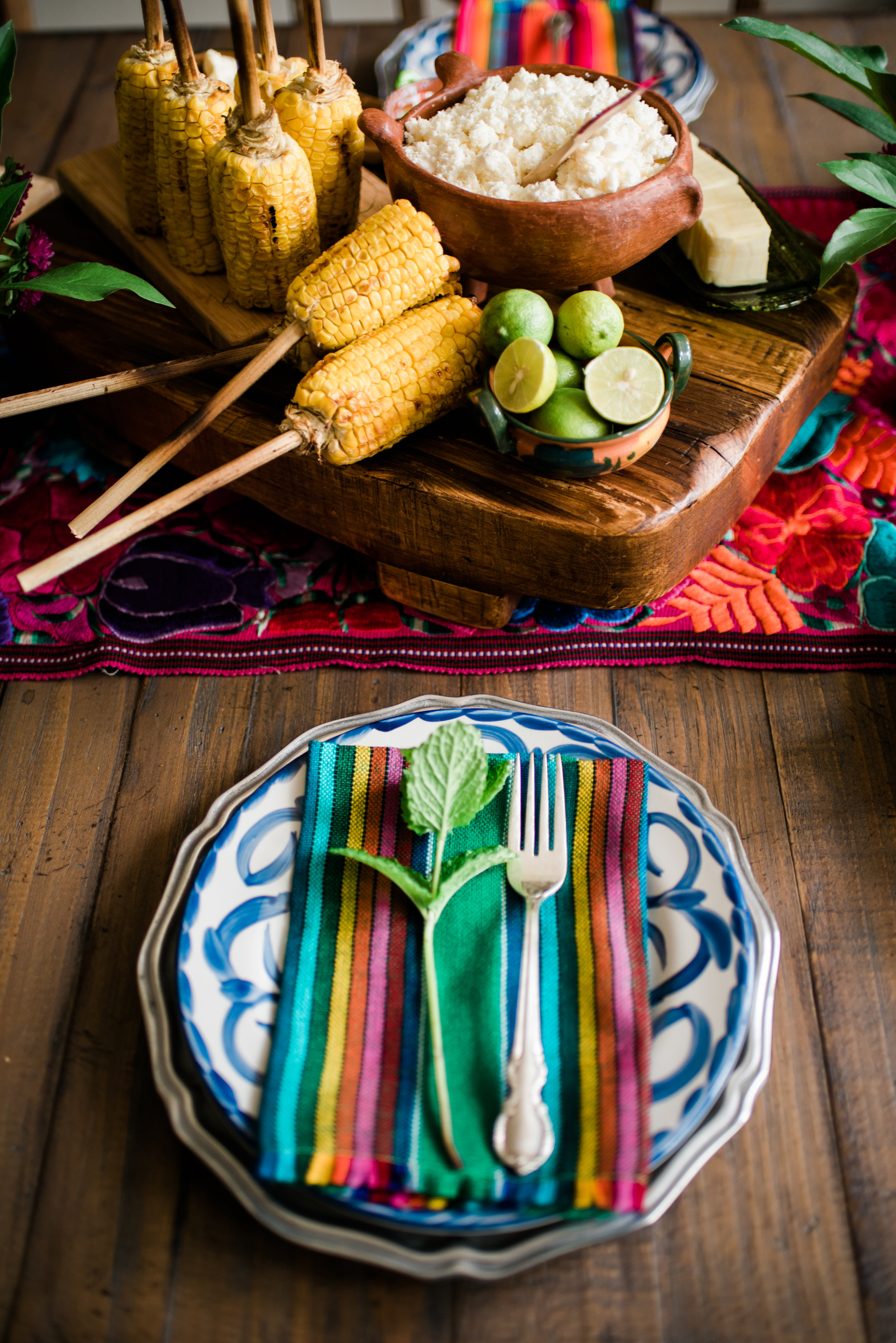 Lola sells these vibrant cloth napkins.See captions in the photos below for links and details.