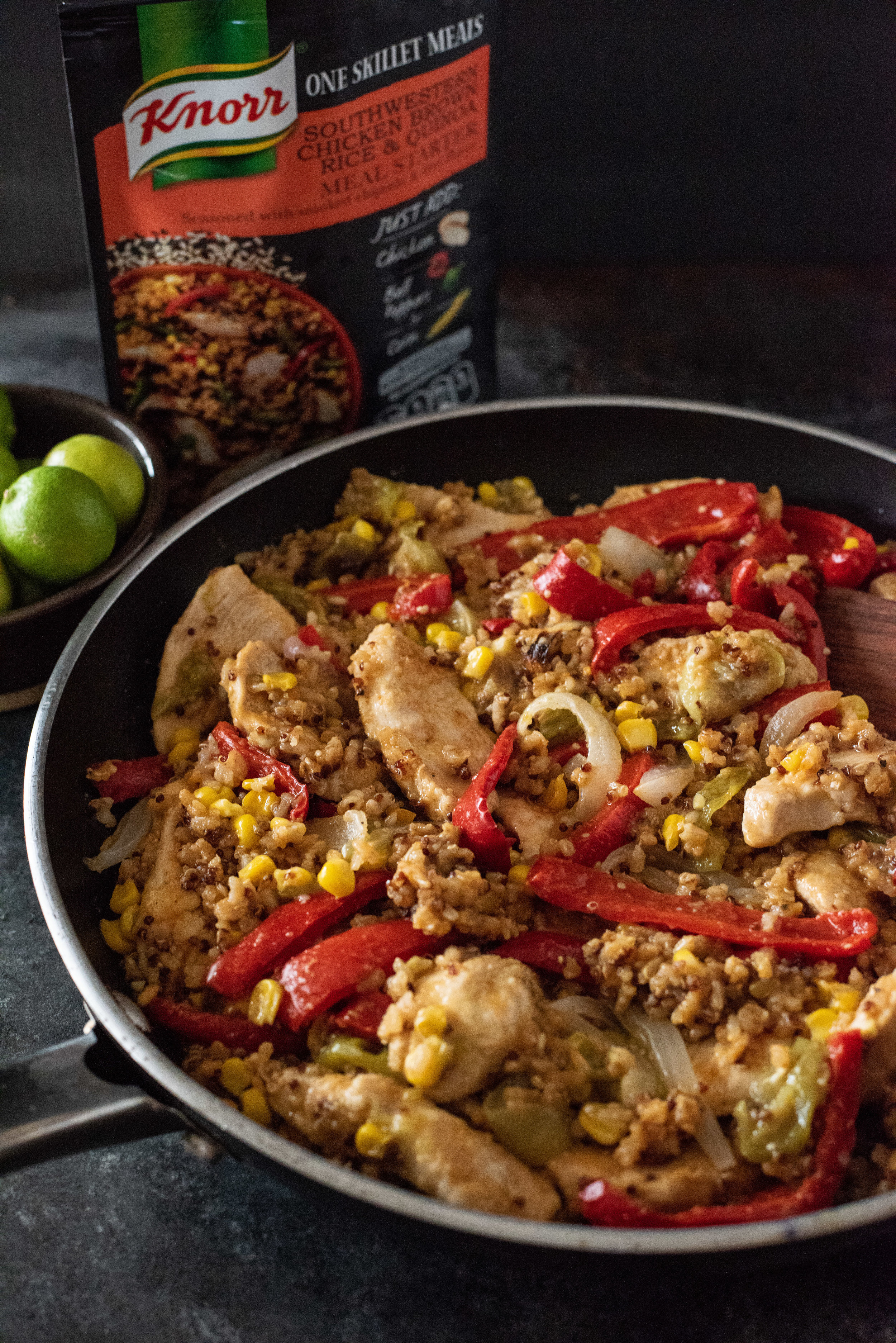 Knorr Southwestern Chicken with Brown Rice & Quinoa