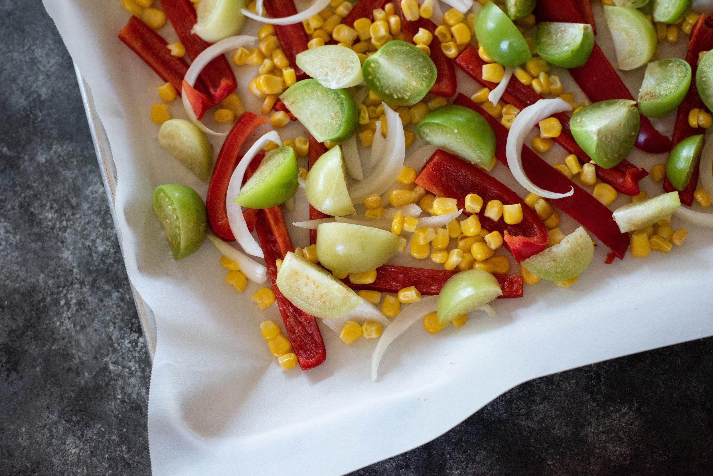 Knorr One Skillet meal vegetables
