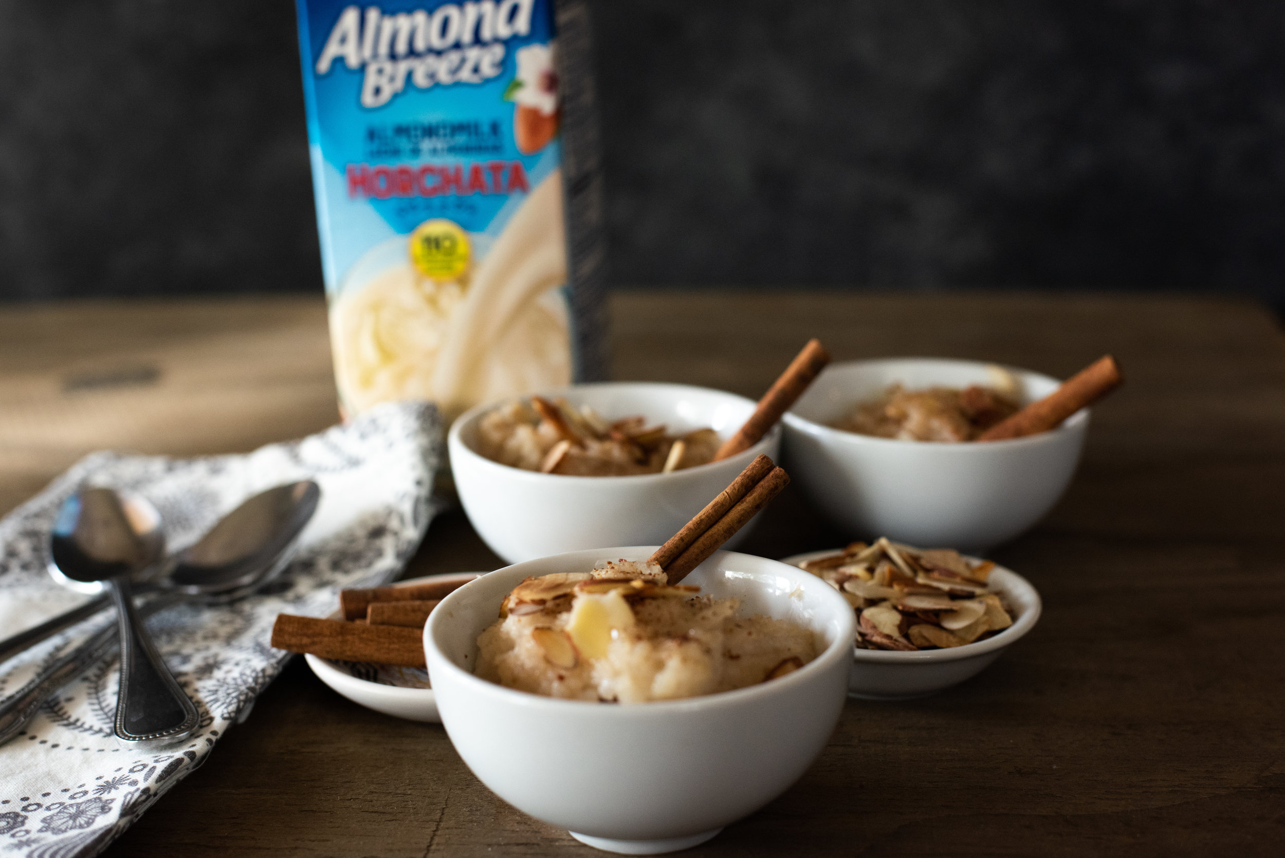 Almond Breeze Horchata Rice Pudding