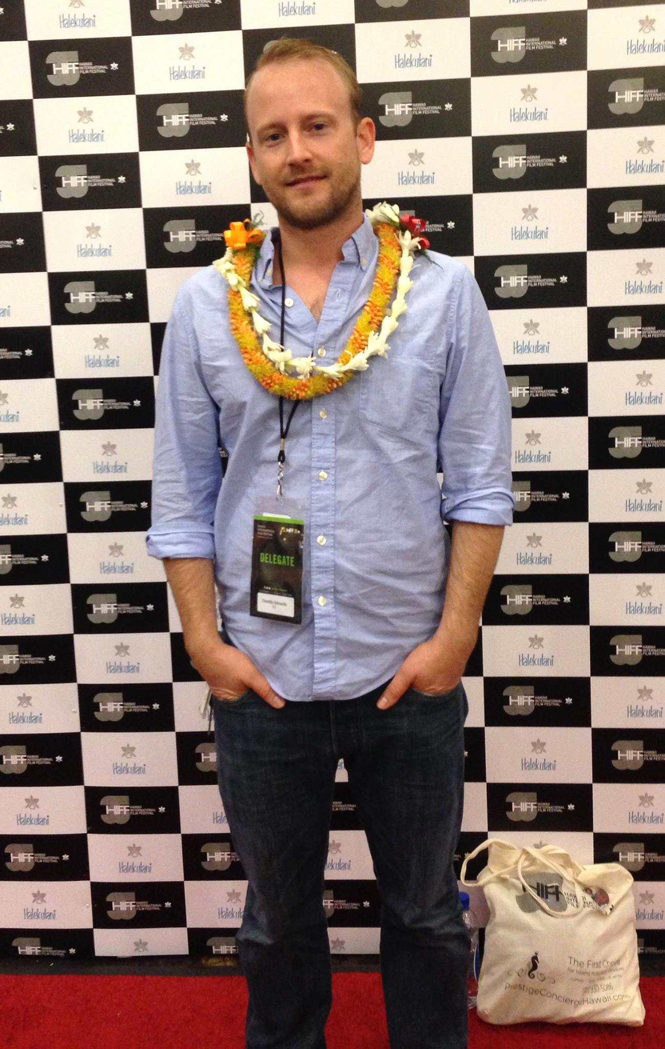 Slightly jet lagged, but totally thrilled to screen  Pō  in competition at the Hawai'i International Film Festival.