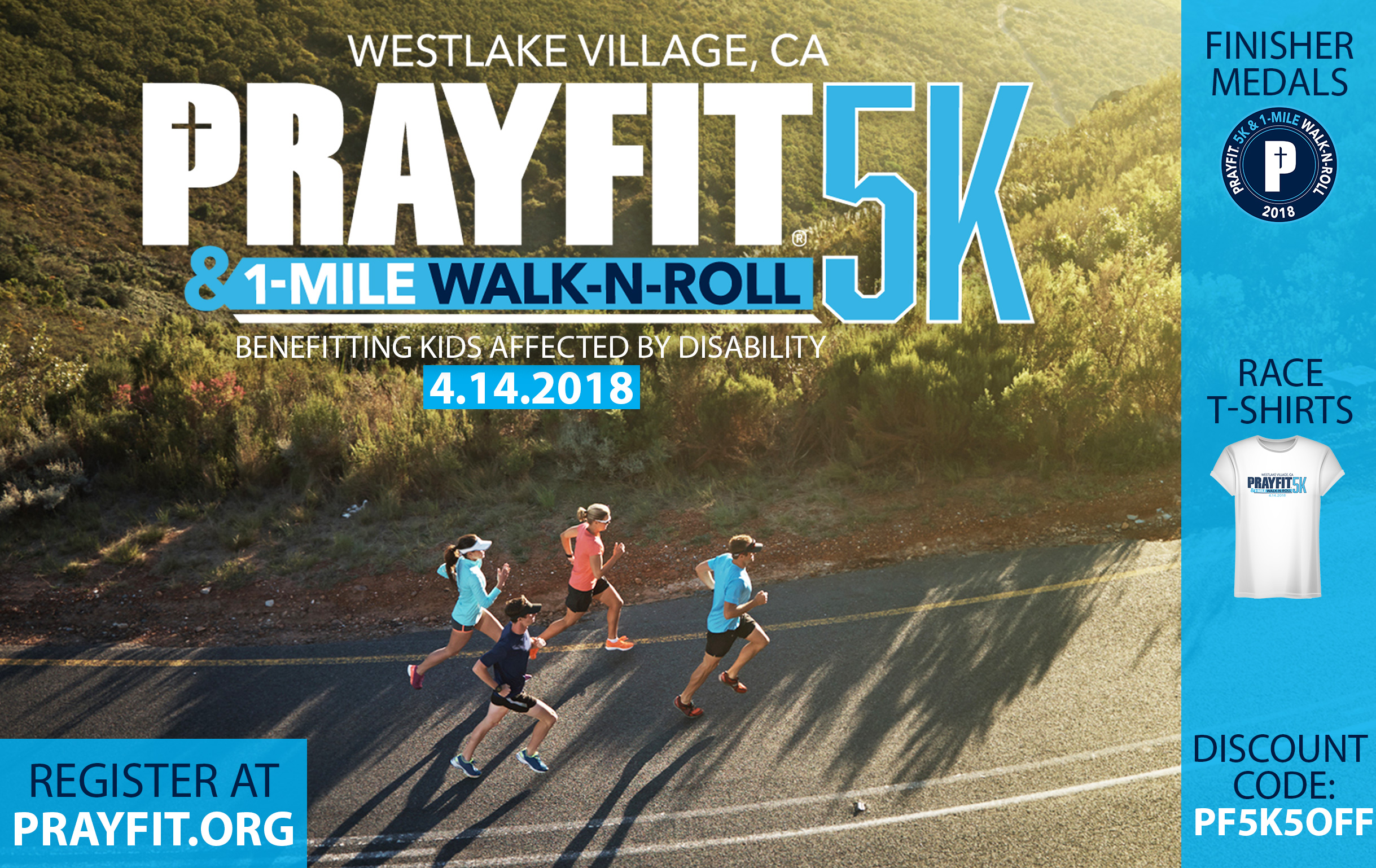 - Click below to reserve your t-shirt and medal and let's walk and run coast-to-coast for those who can't.
