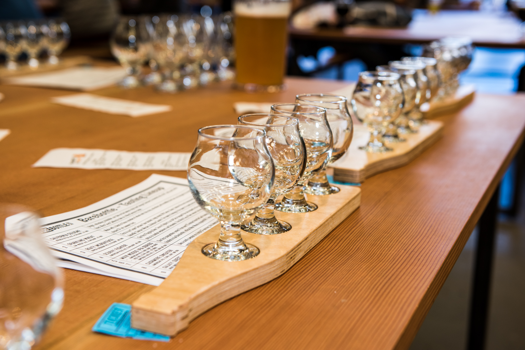Influencer & blogger event at  Bare Bottle Brewing Company