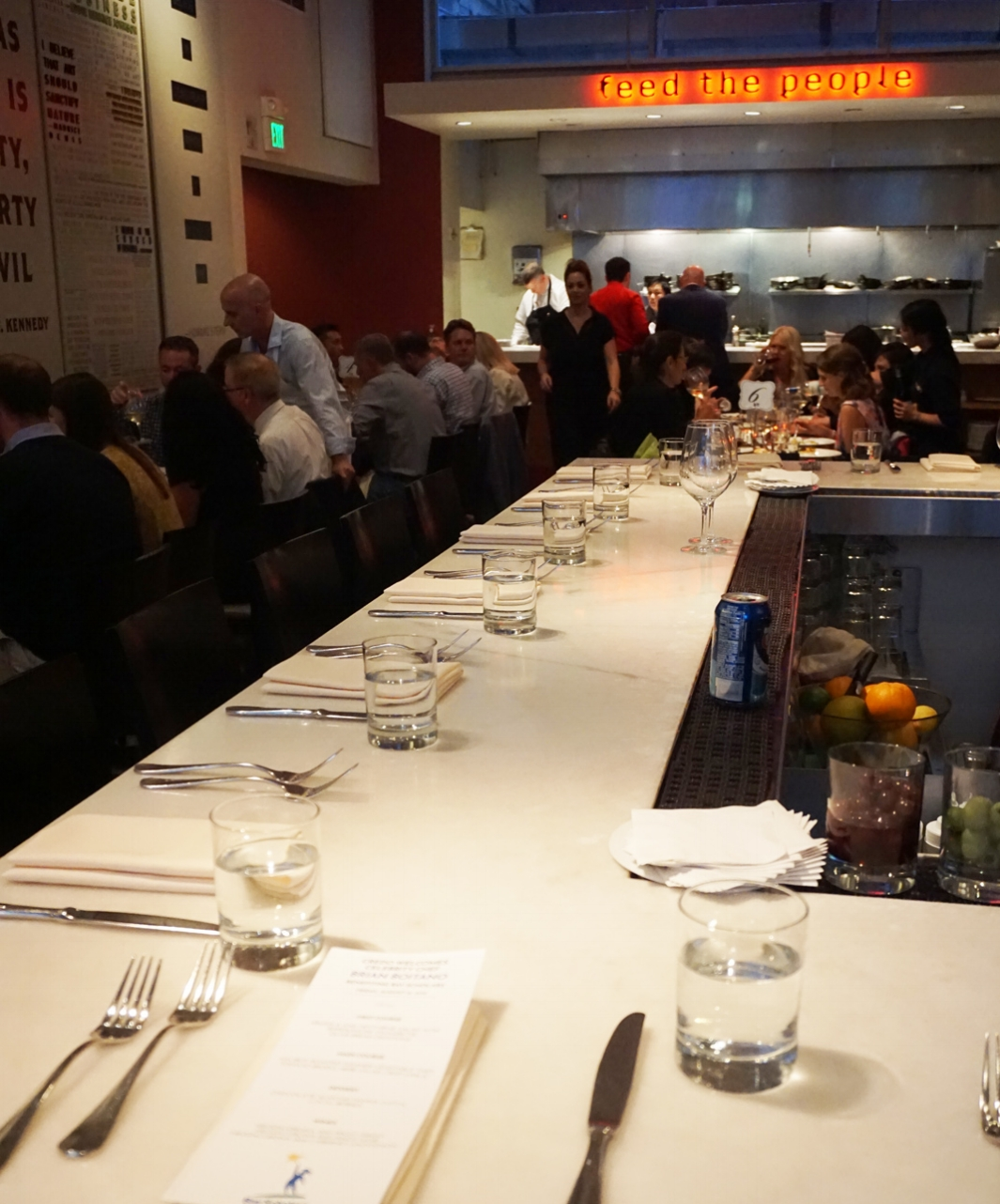Celebrity Chef Dinner with Brian Boitano at  Credo Restaurant  hosting influencers & bloggers