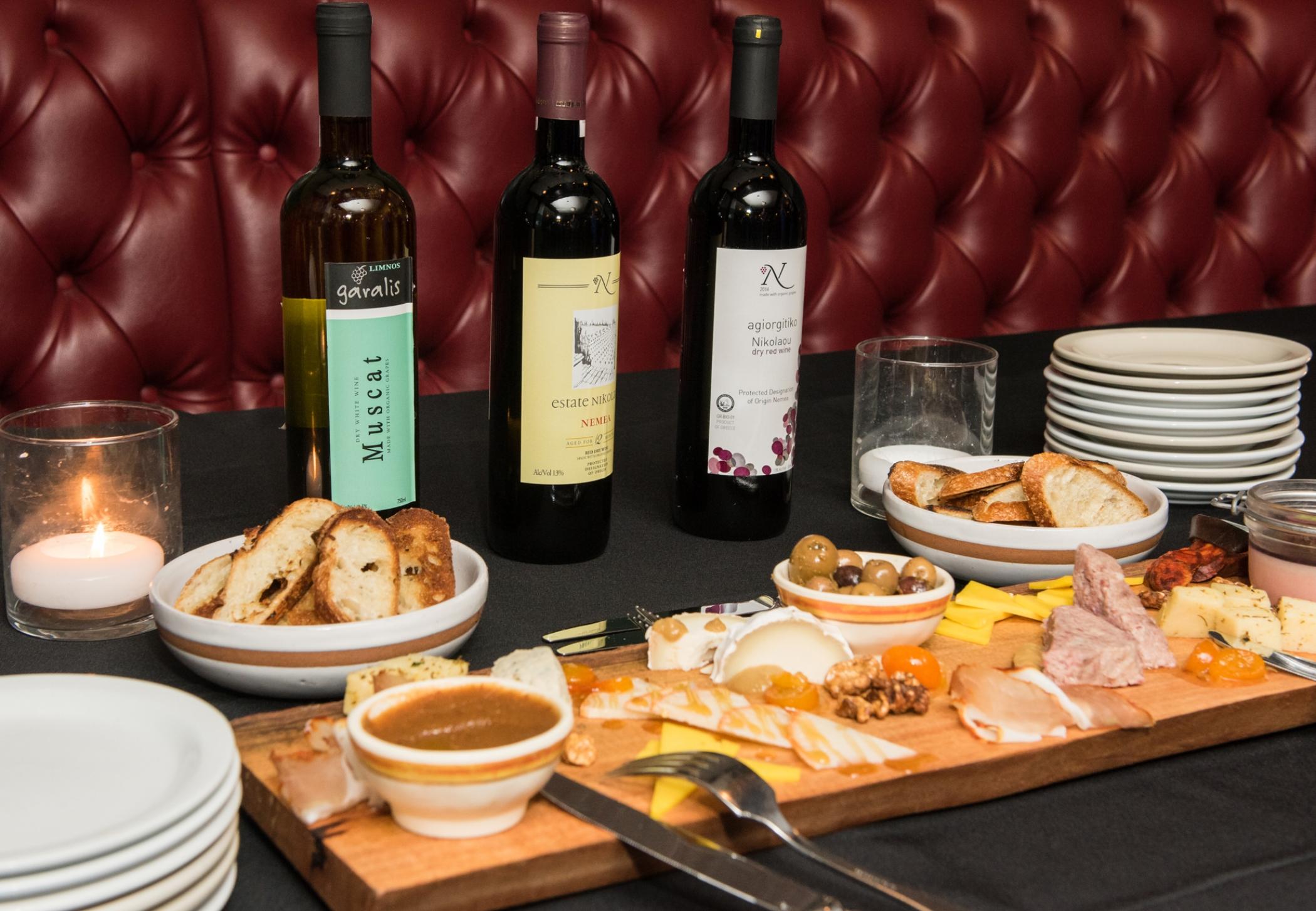 Taste Greek Wine  Tasting at  Cafe du Nord