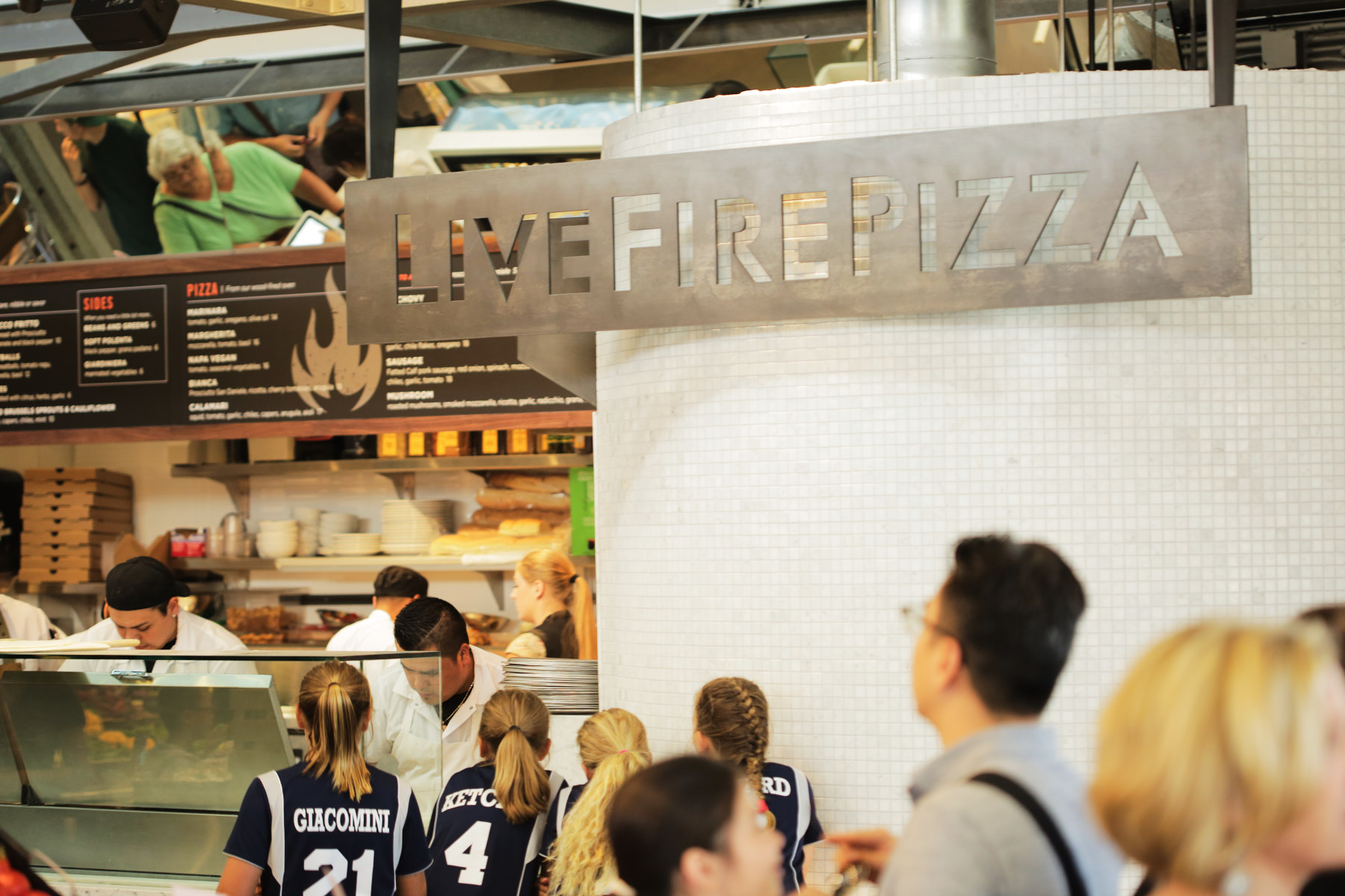 Live Fire Pizza Oxbow Market