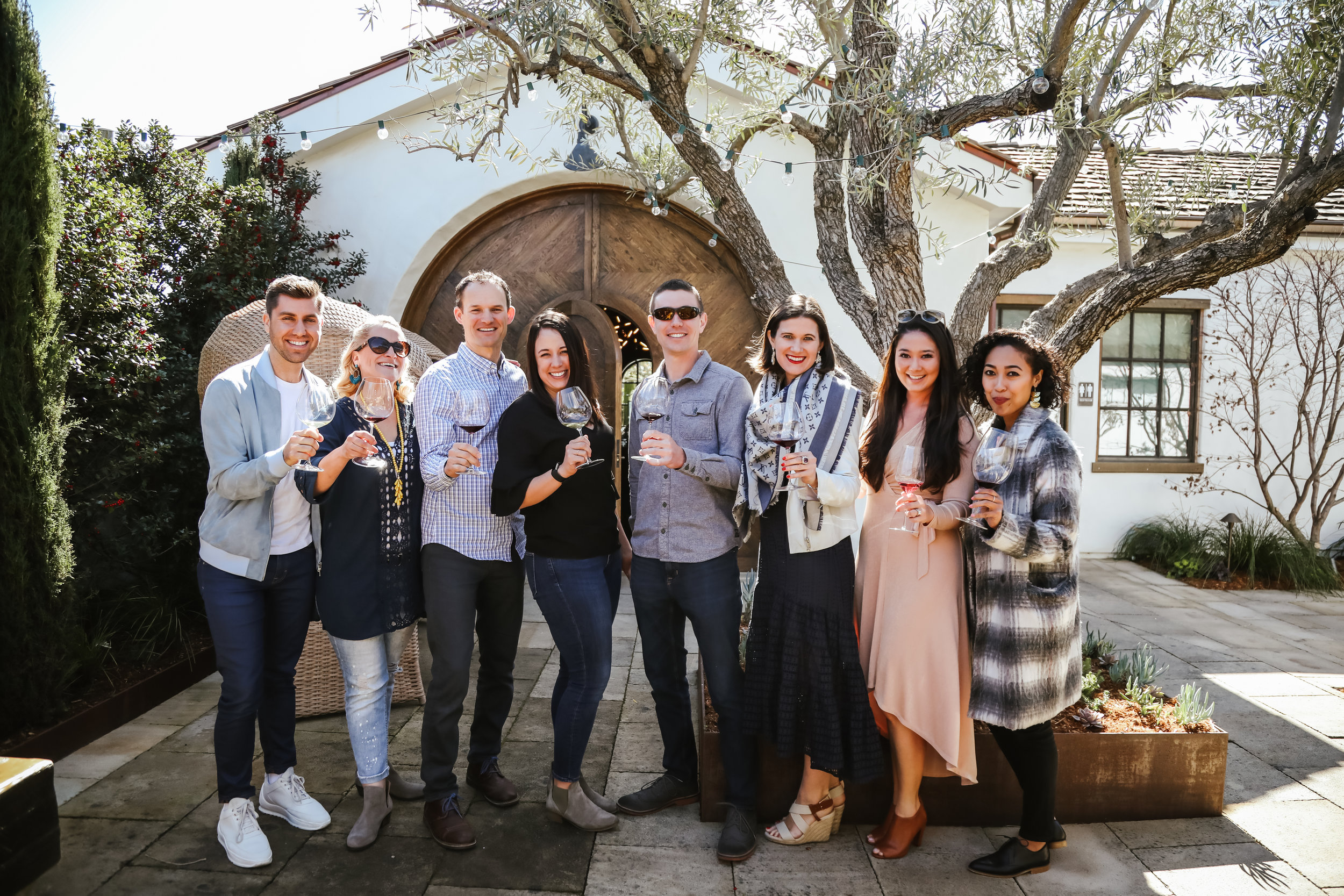 Cheers to fabulous Winemaker Ryan Prichard of Three Sticks Wines and our lovely afternoon sharing the stunning Three Sticks Wines and adobe with our blogger guests.