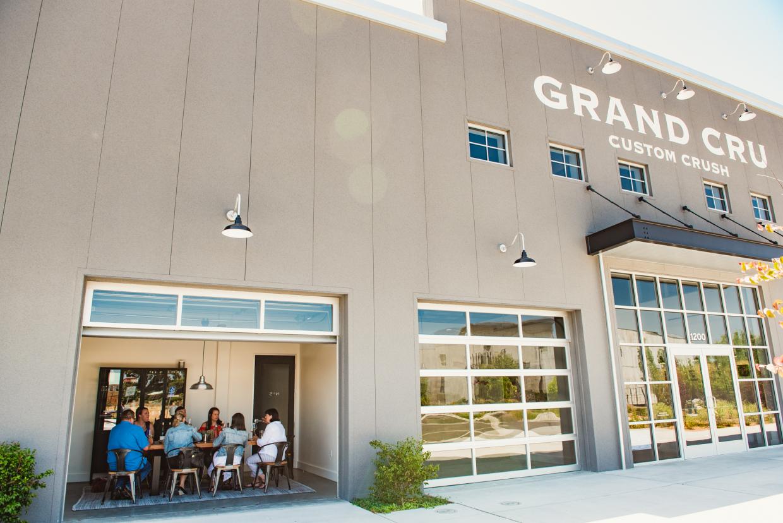 <b> Mak Snacks </b> Bucher Wines Visit at Grand Cru Custom Crush