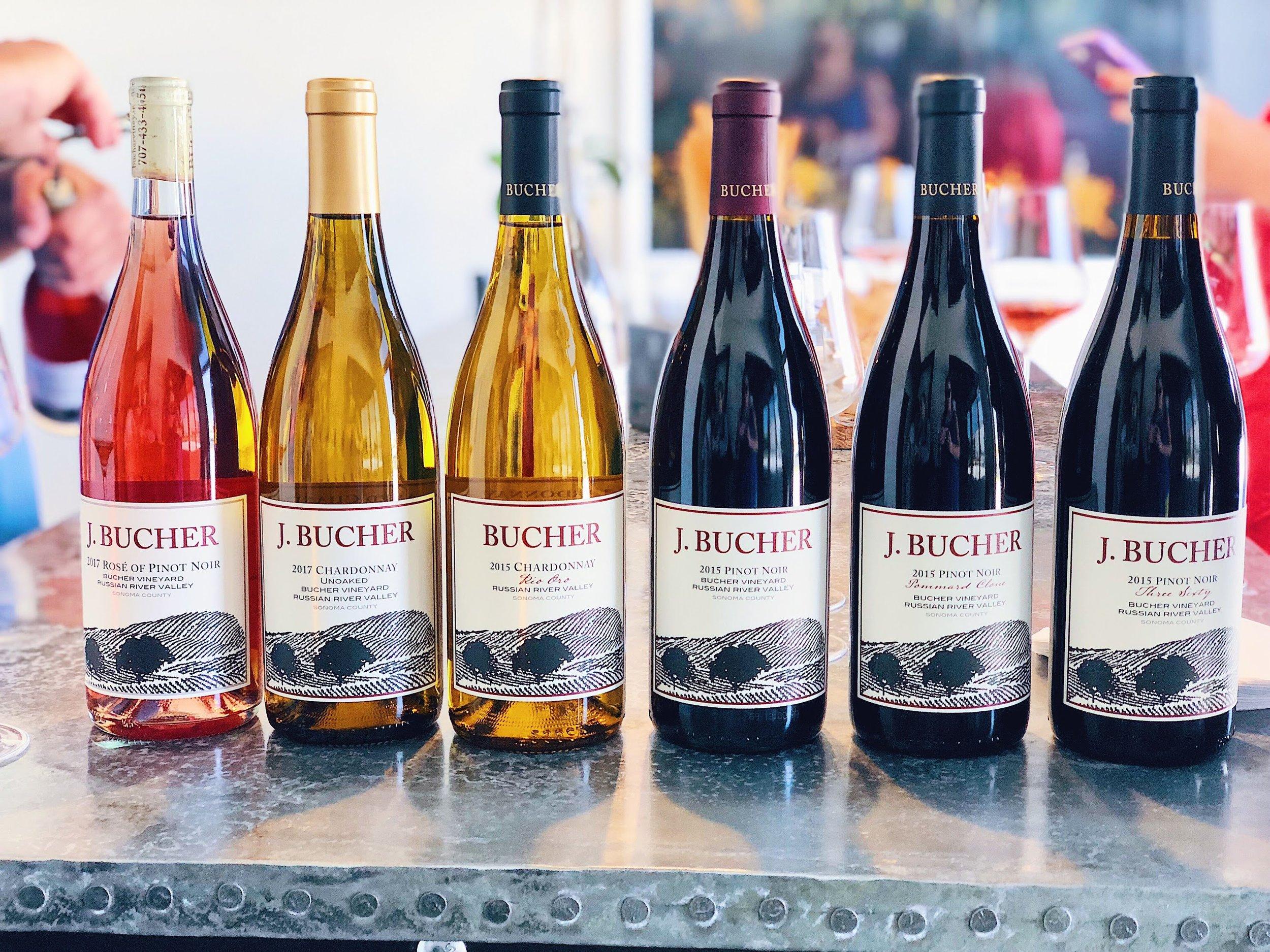<b> 100 Sonoma Wineries in 100 Days </b> Bucher Wines