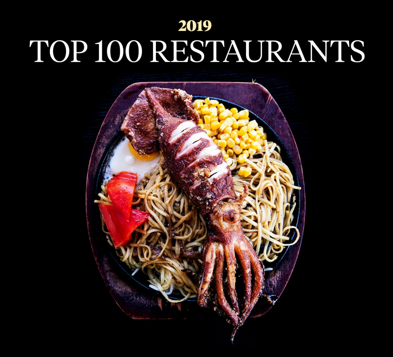 SAN FRANCISCO CHRONICLE^ TOP 100 2019 RESTAURANTS featuring PLAJ RESTAURANT