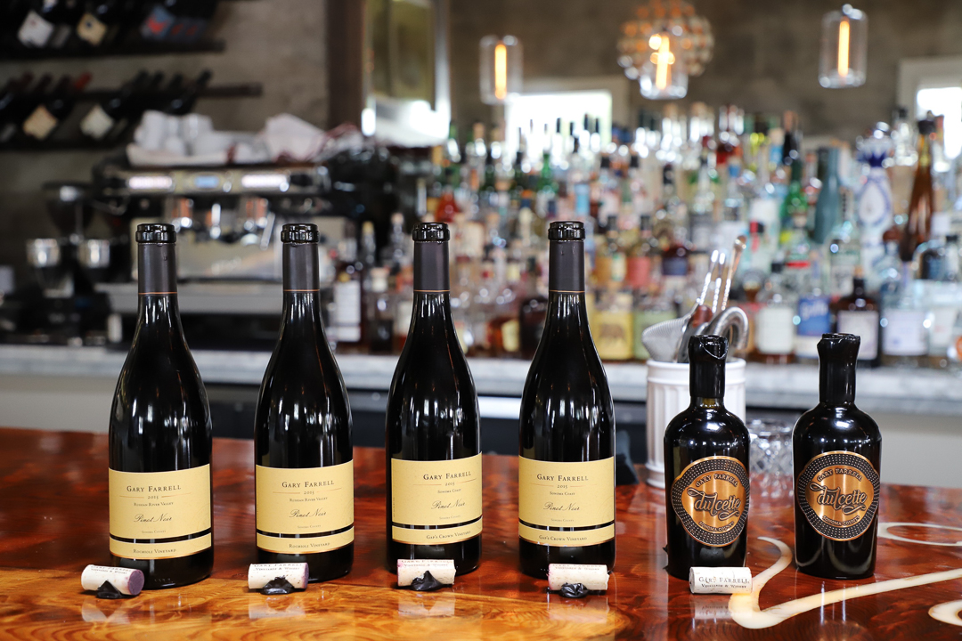 NAPA VALLEY TIP^ A Fabulous Lunch At Valette Restaurant with Gary Farrell Wines