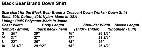 Black-Bear-Brand-Crescent-Down-Works-Sizing-Chart.png