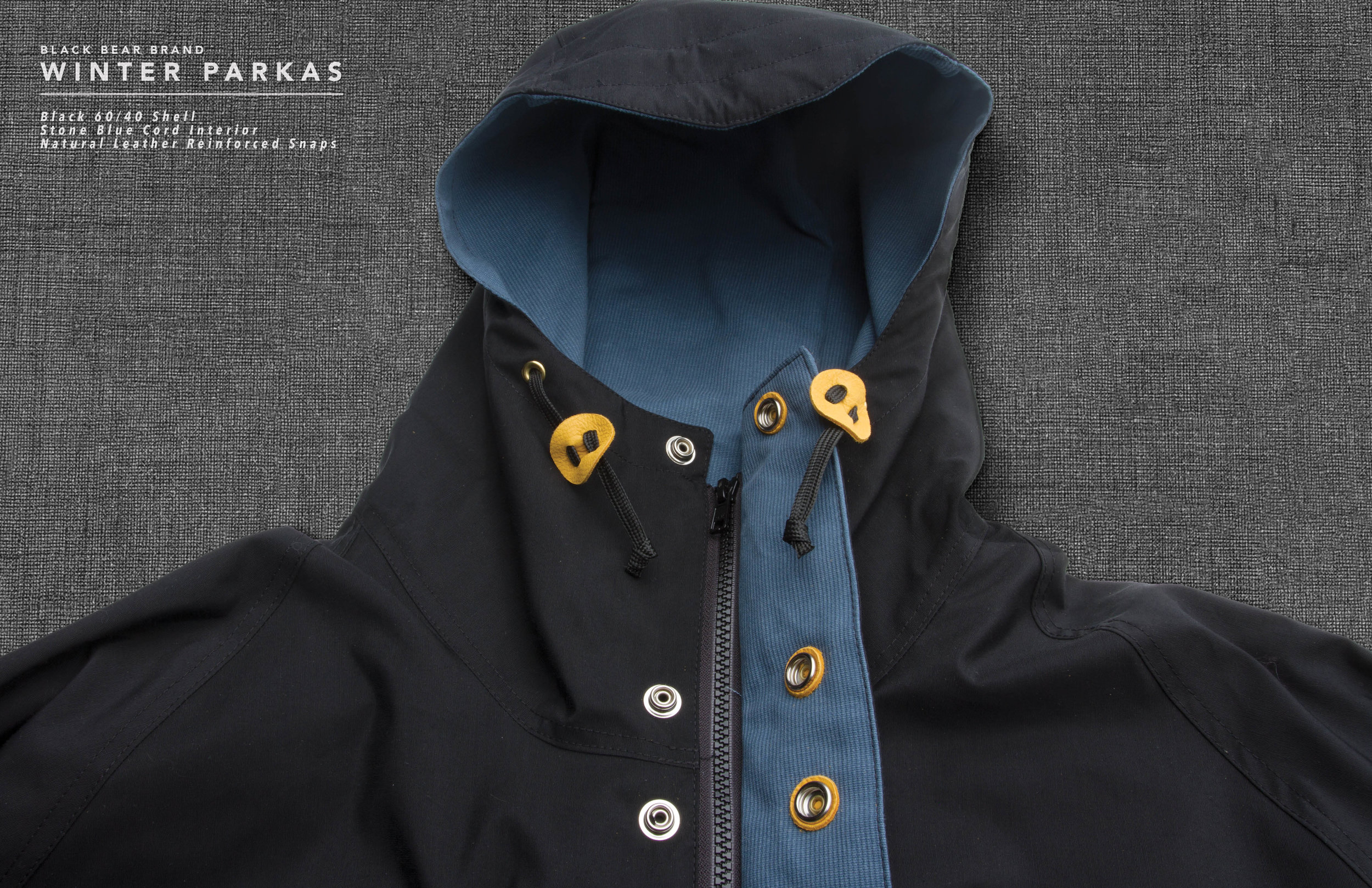 Black Bear Brand Winter 2016/17 Parkas