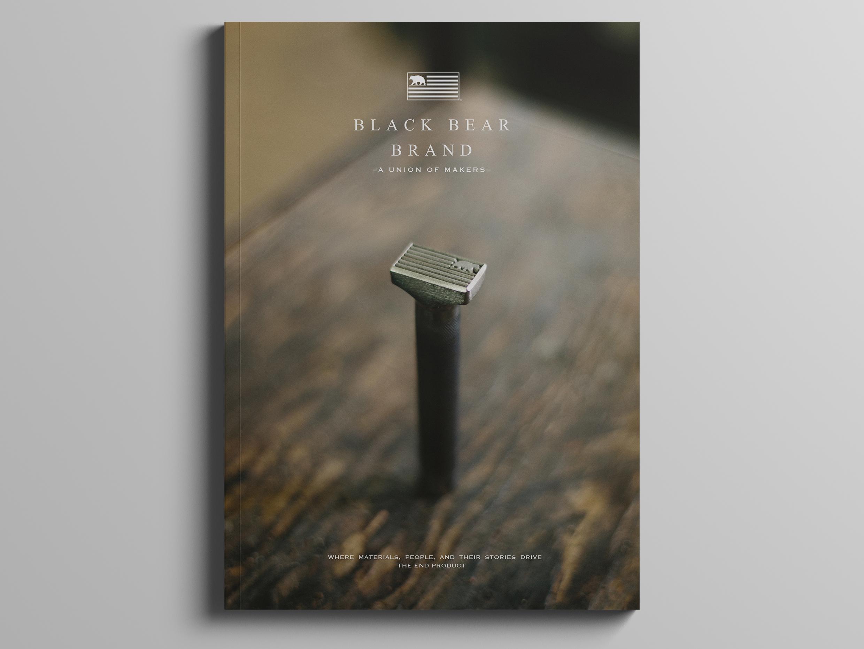 Black Bear Brand Our Journey 1st edition magazine