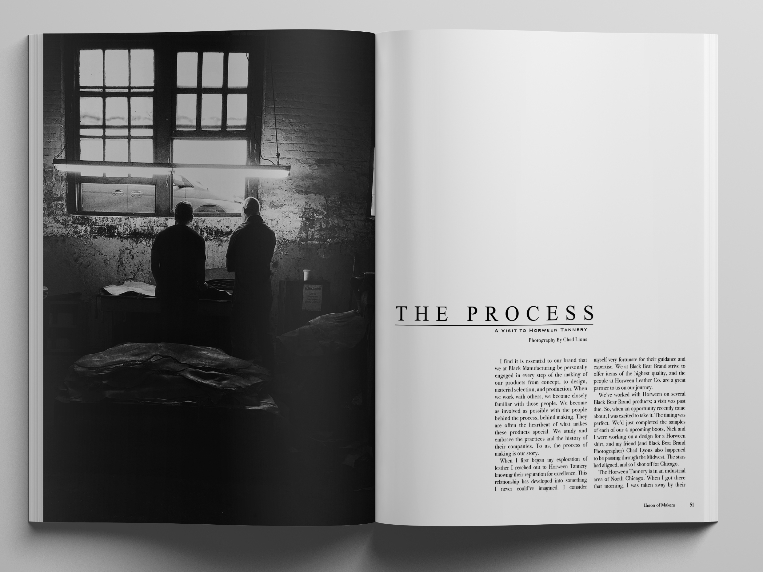 The Process, A Visit To The Horween Tannery