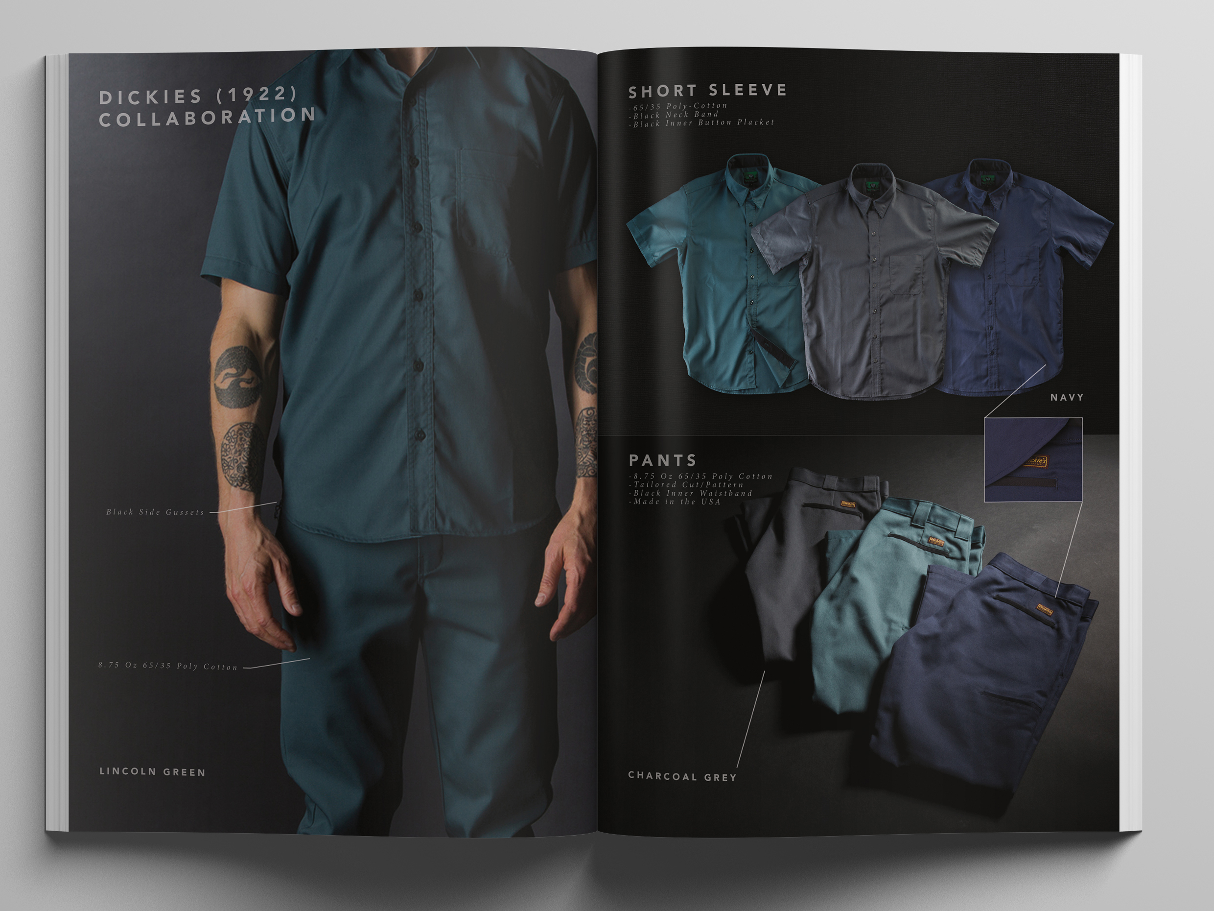 Black Bear Brand Collaboration with Dickies