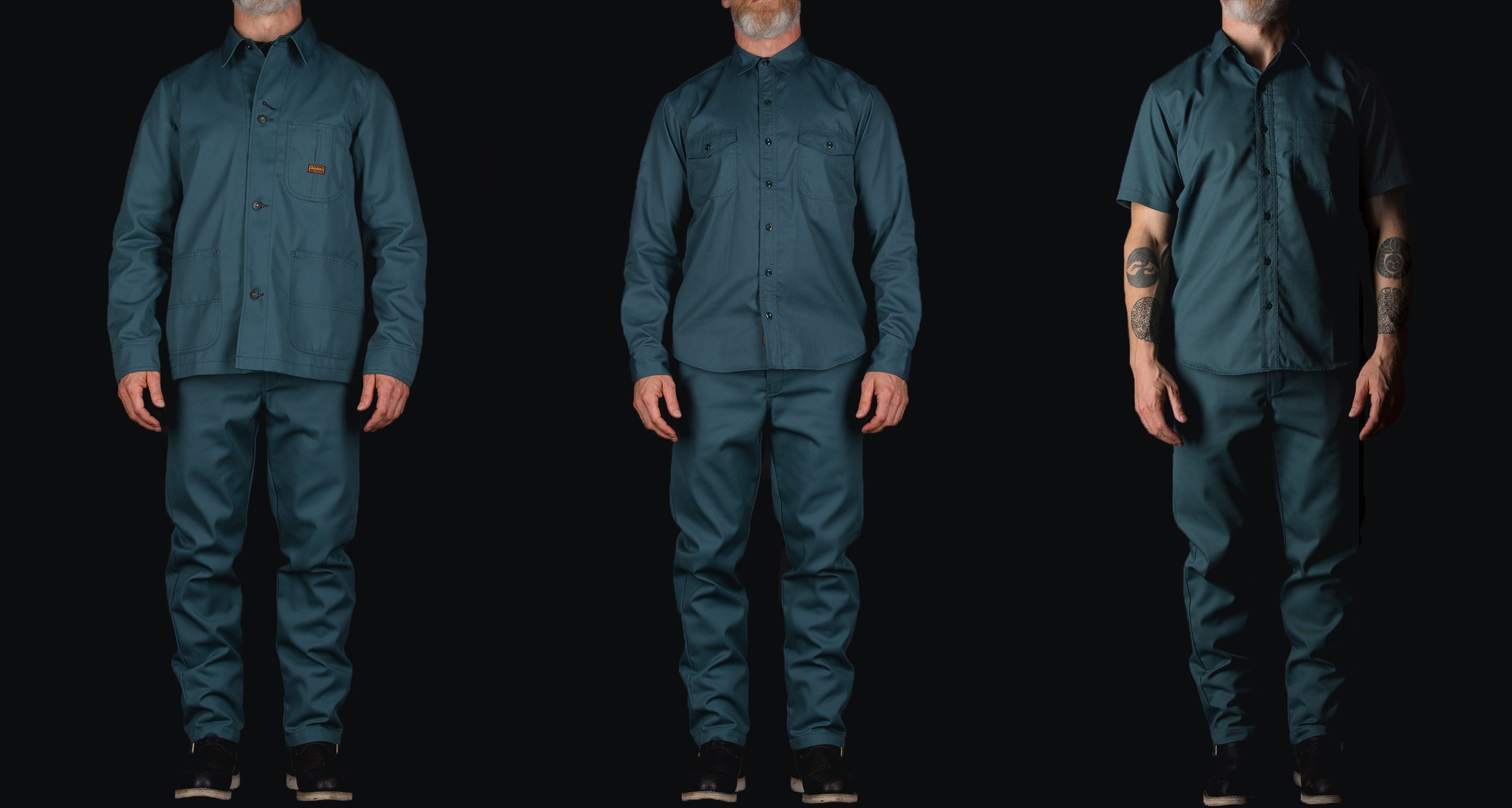 Black Bear Brand x Dickies 1922 Collaboration (Lincoln Green)