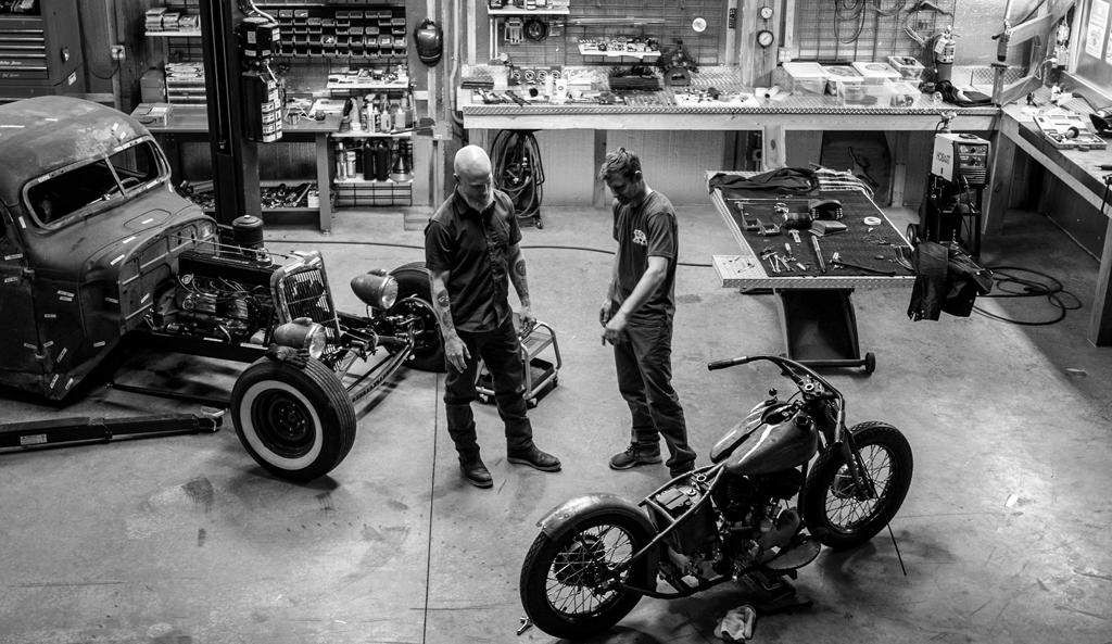 Black Bear Brand and Harley Davidson