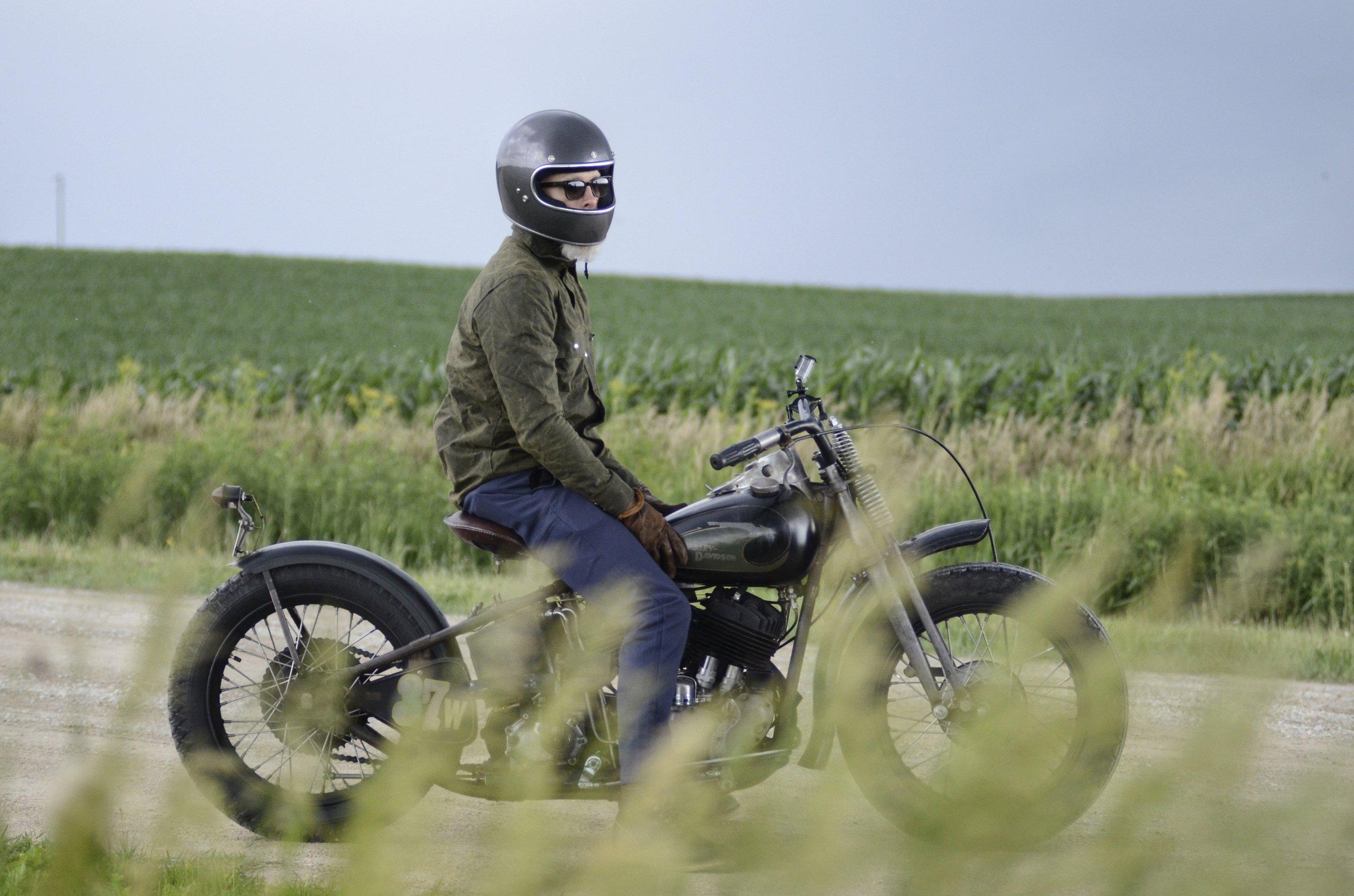 The Black Bear Brand x Harley Davidson journey