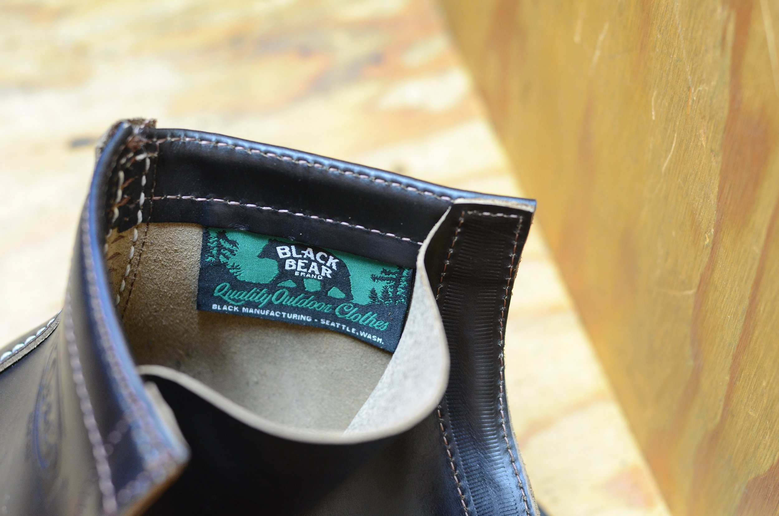 Black Bear Brand, Wesco, and Horween Leather Co.  collaboration