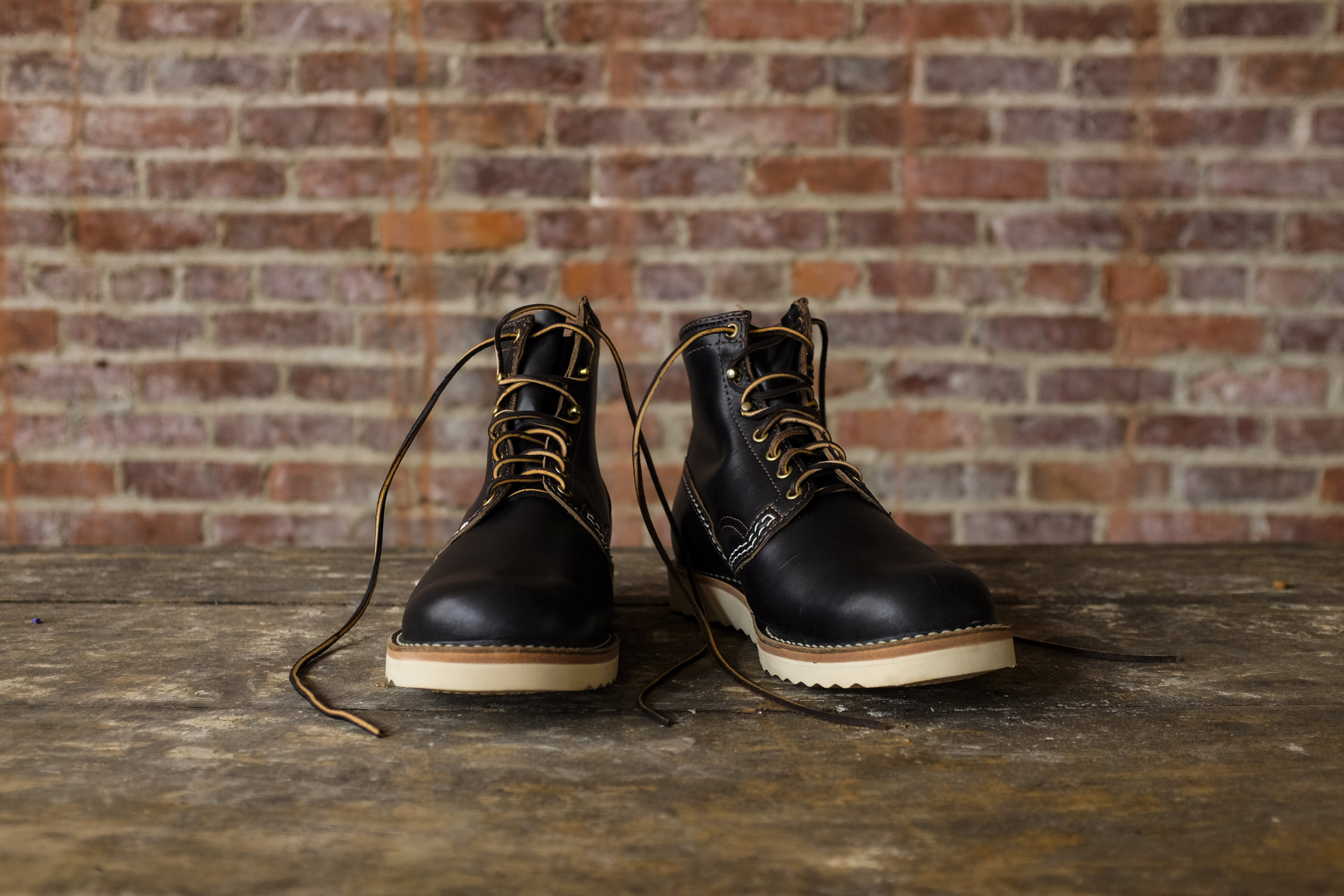 Black Bear Brand x Wesco Jobmaster with Horween Leather