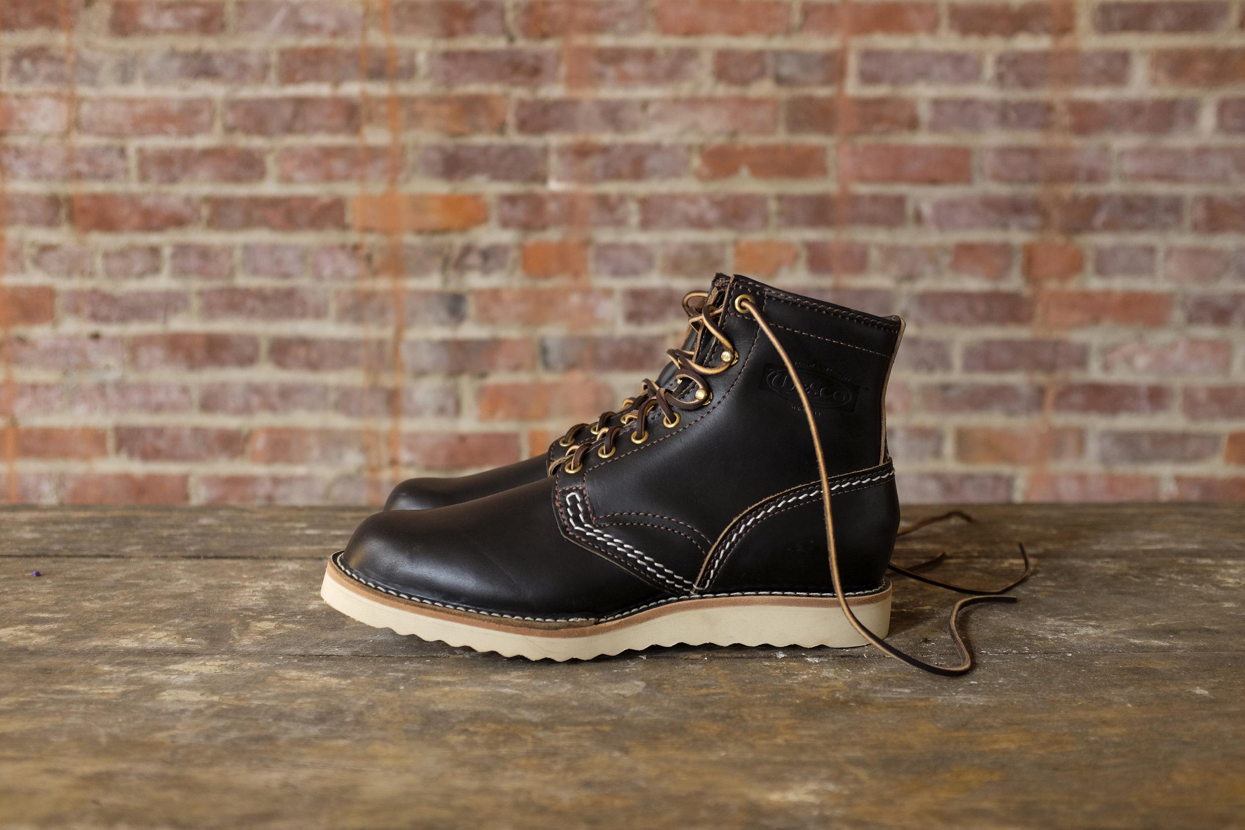 Black Bear Brand x Wesco Jobmaster in Horween Leather