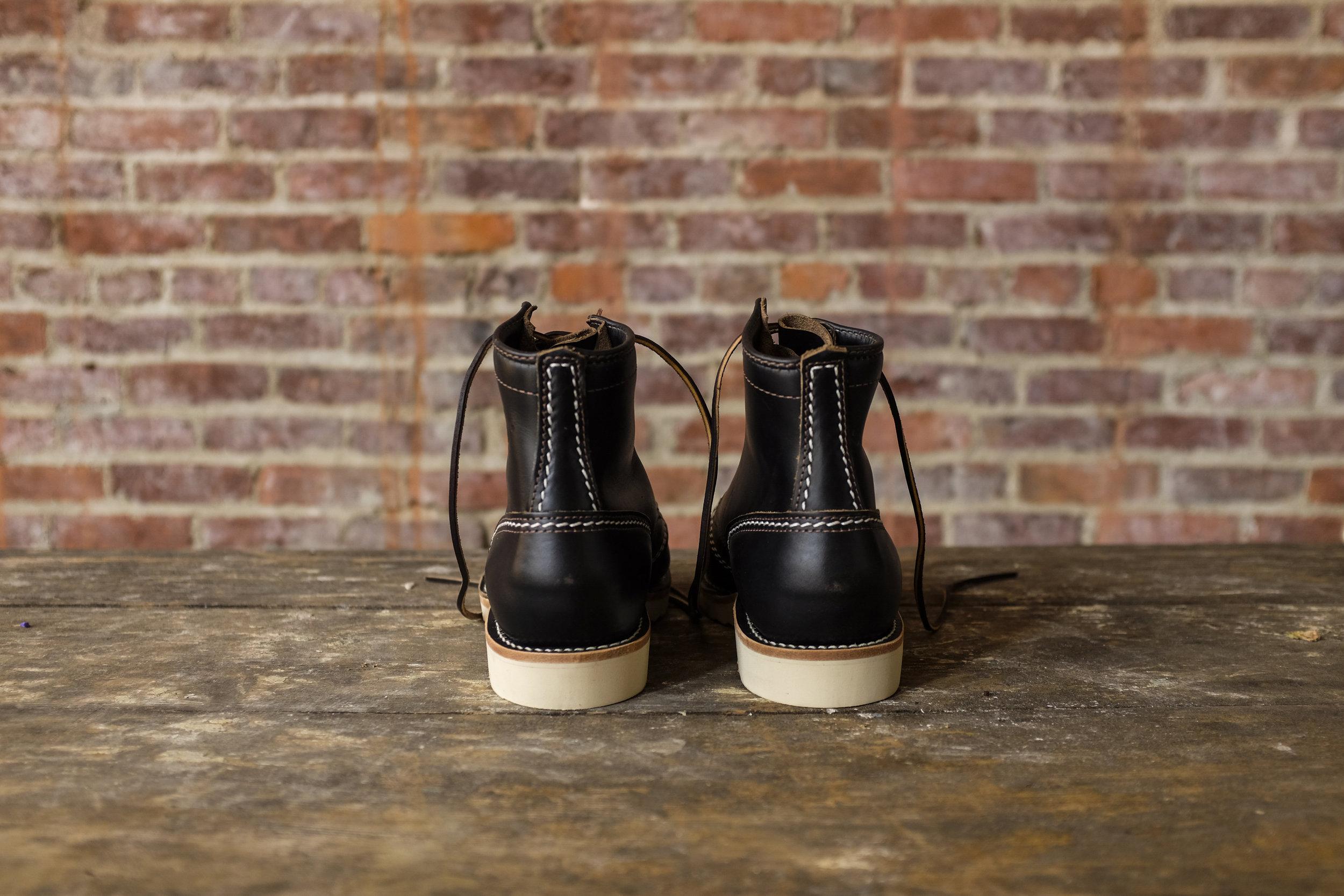 Black Bear Brand x Wesco JOBMASTER in ChromexcelHorween Leather