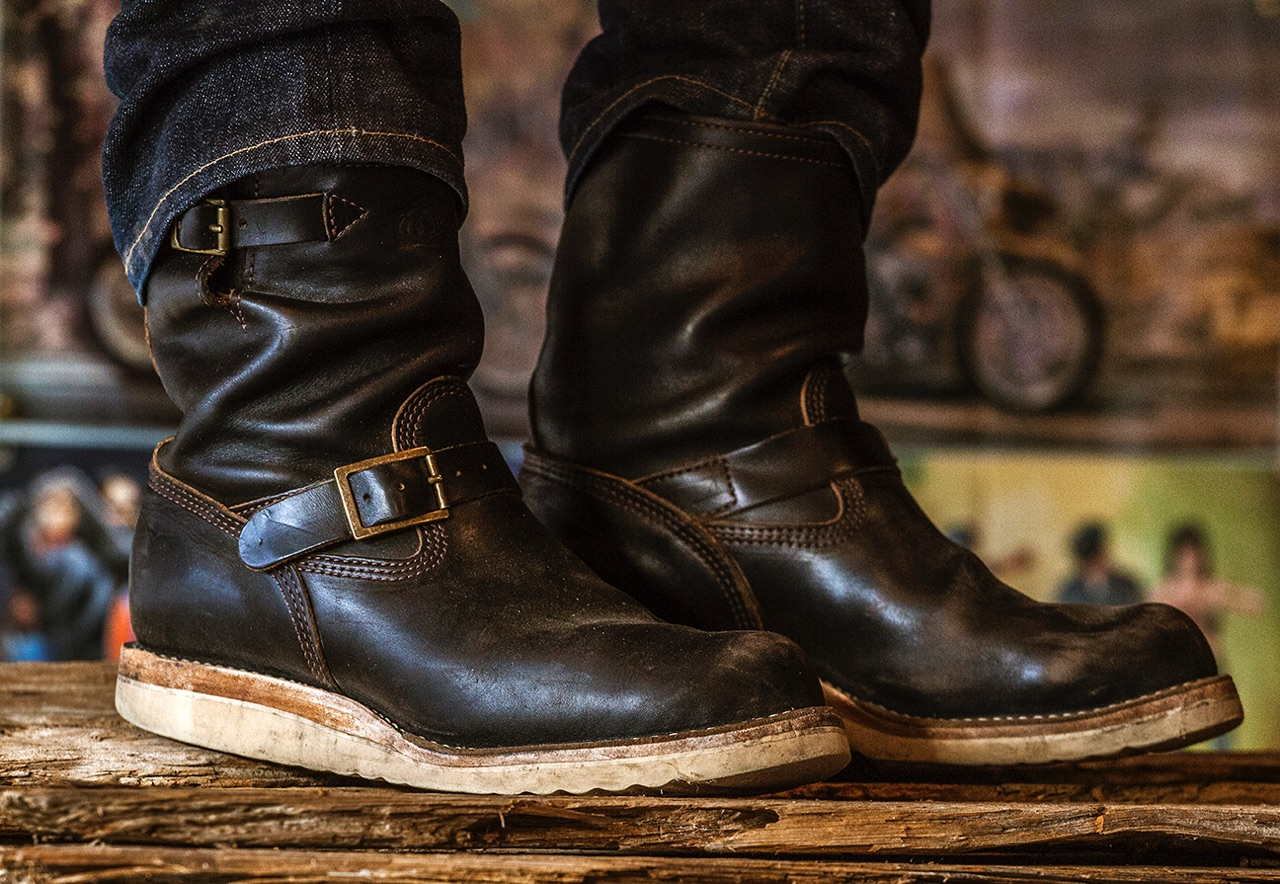Black Bear Brand x Wesco x Horween boot collection