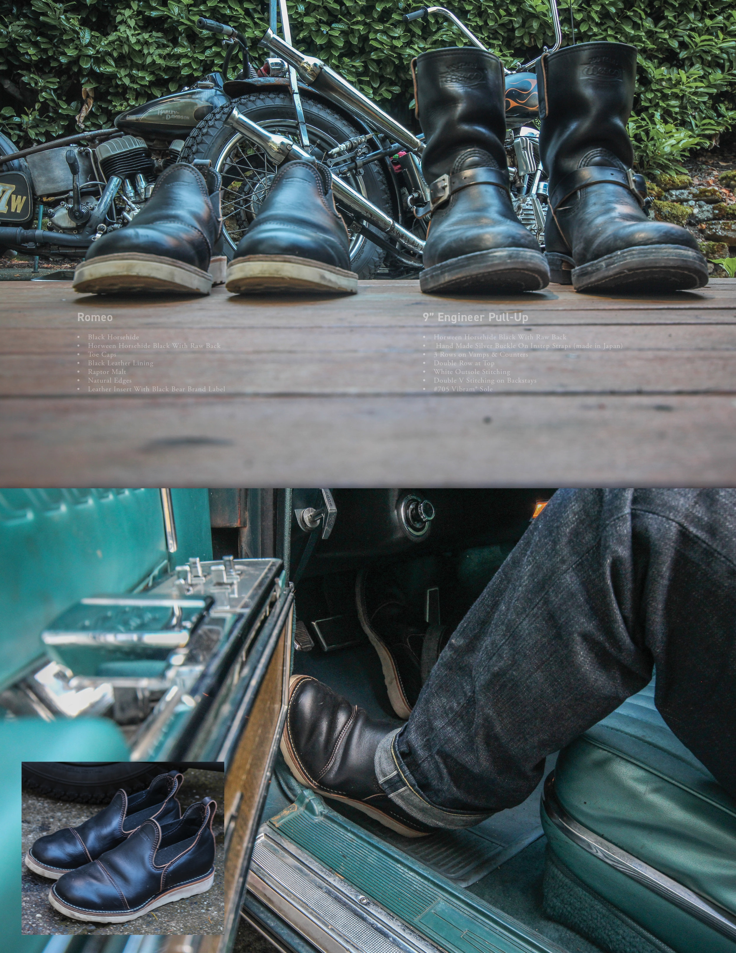 """Wesco Shoes: The Gold Standard is 100 years old this year!   Horween """"horsehide""""Leather    the art of tanning at its finest.  Unparalleled blend of quality, consistency, responsiveness, and innovation"""