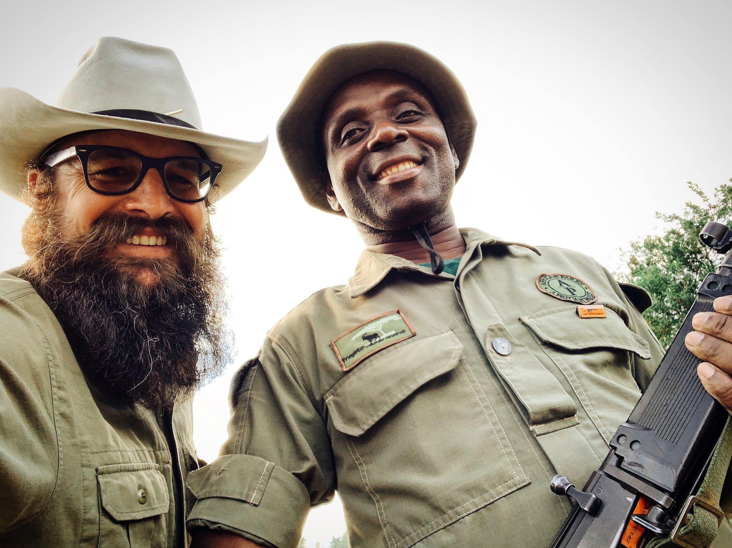 theBlackBearBrand_CowboyHat_inAfrica.JPG