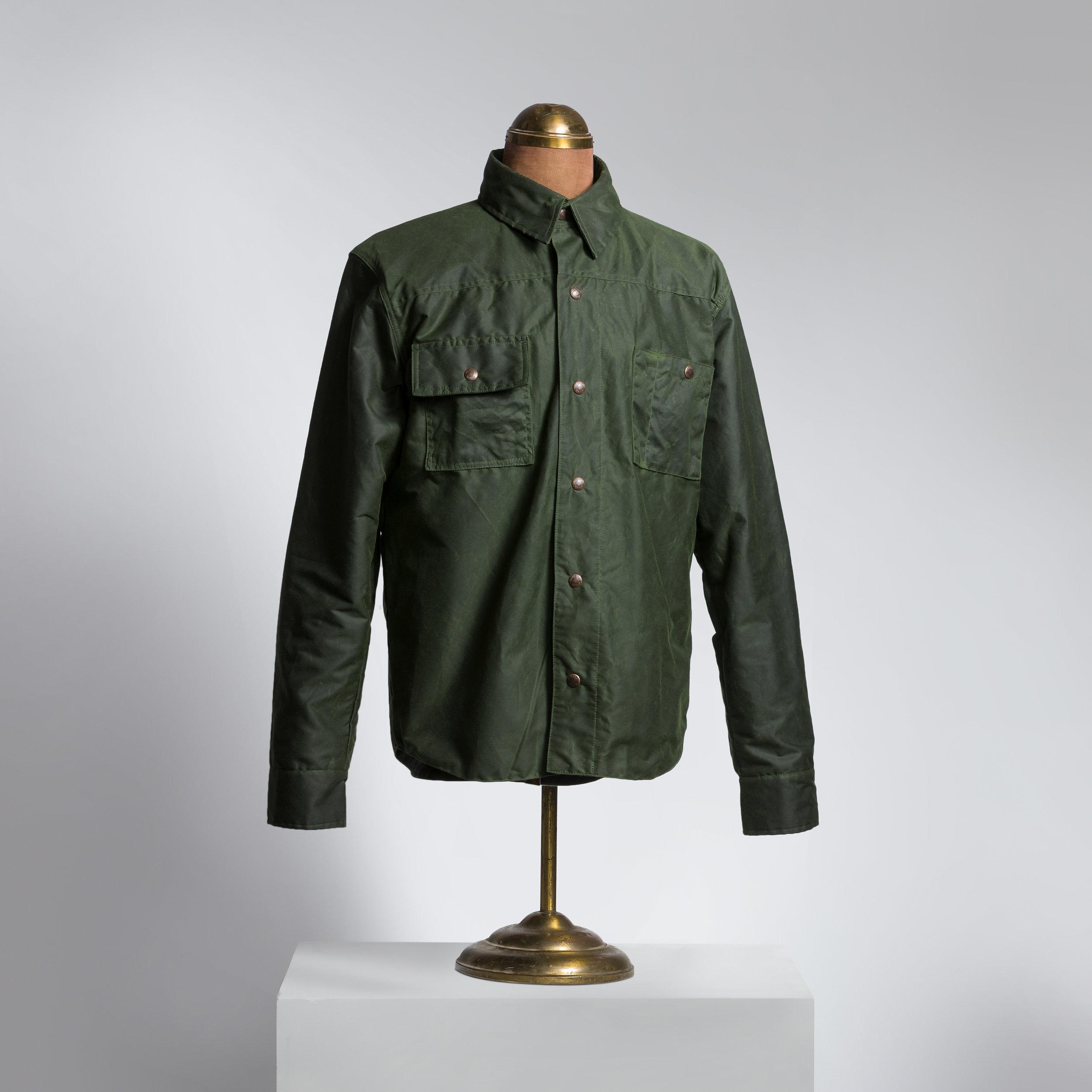 Brewster hunter Green Wax Canvas Shirt/Jacket