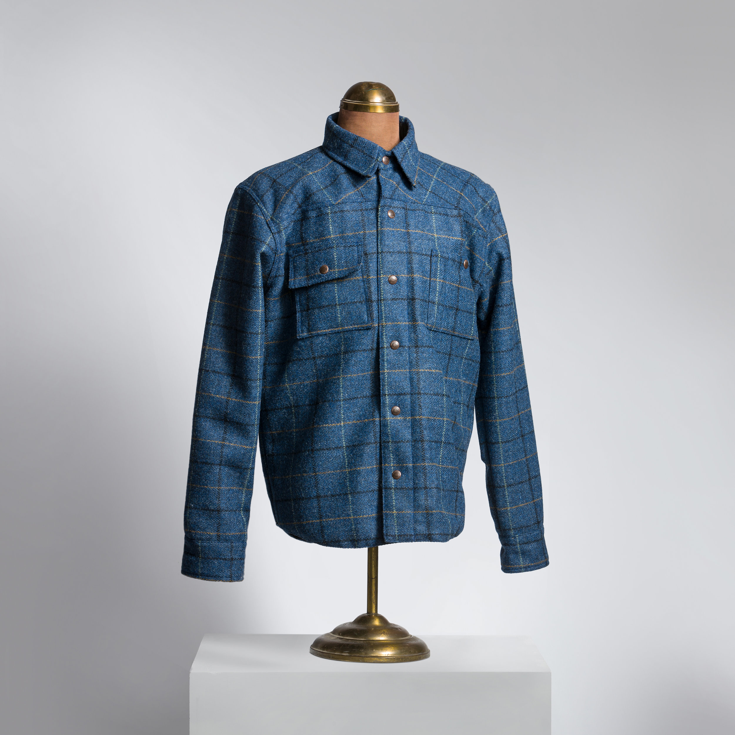 Check Harris Tweed Shirt/Jacket