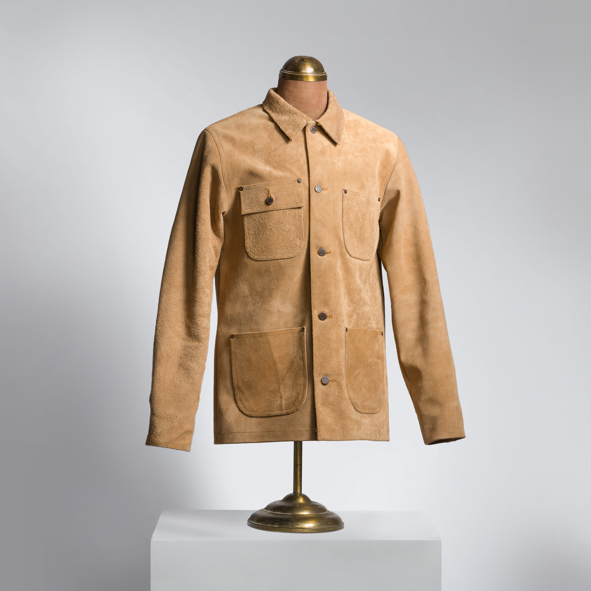 Horween Rough-Out ORION Chore/Jacket