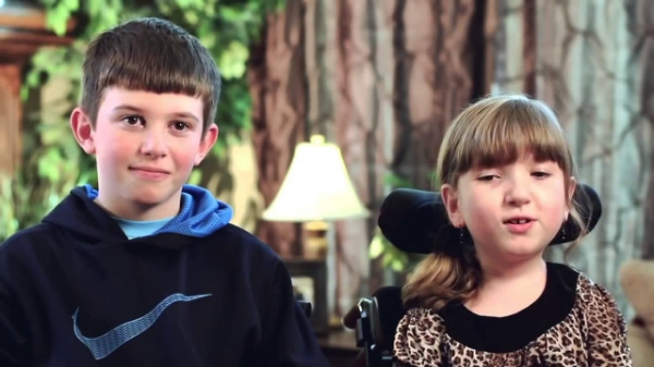Photo Credit: A Brother's Devotion to His Special Needs Sister Will Break You Down Into Tears  on  YouTube