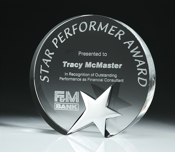Top Star Award - Circle