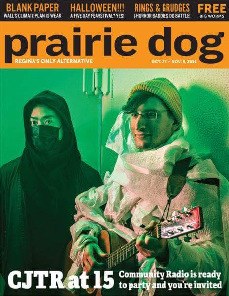 We made the cover of the Prairie Dog!!