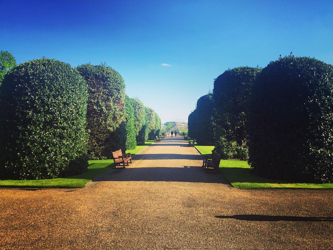 It was a perfect day for Cosmo's event @ the Orangery at Kensington Palace 🌺🌼🌸#AWEurope  (at Kensington Palace)