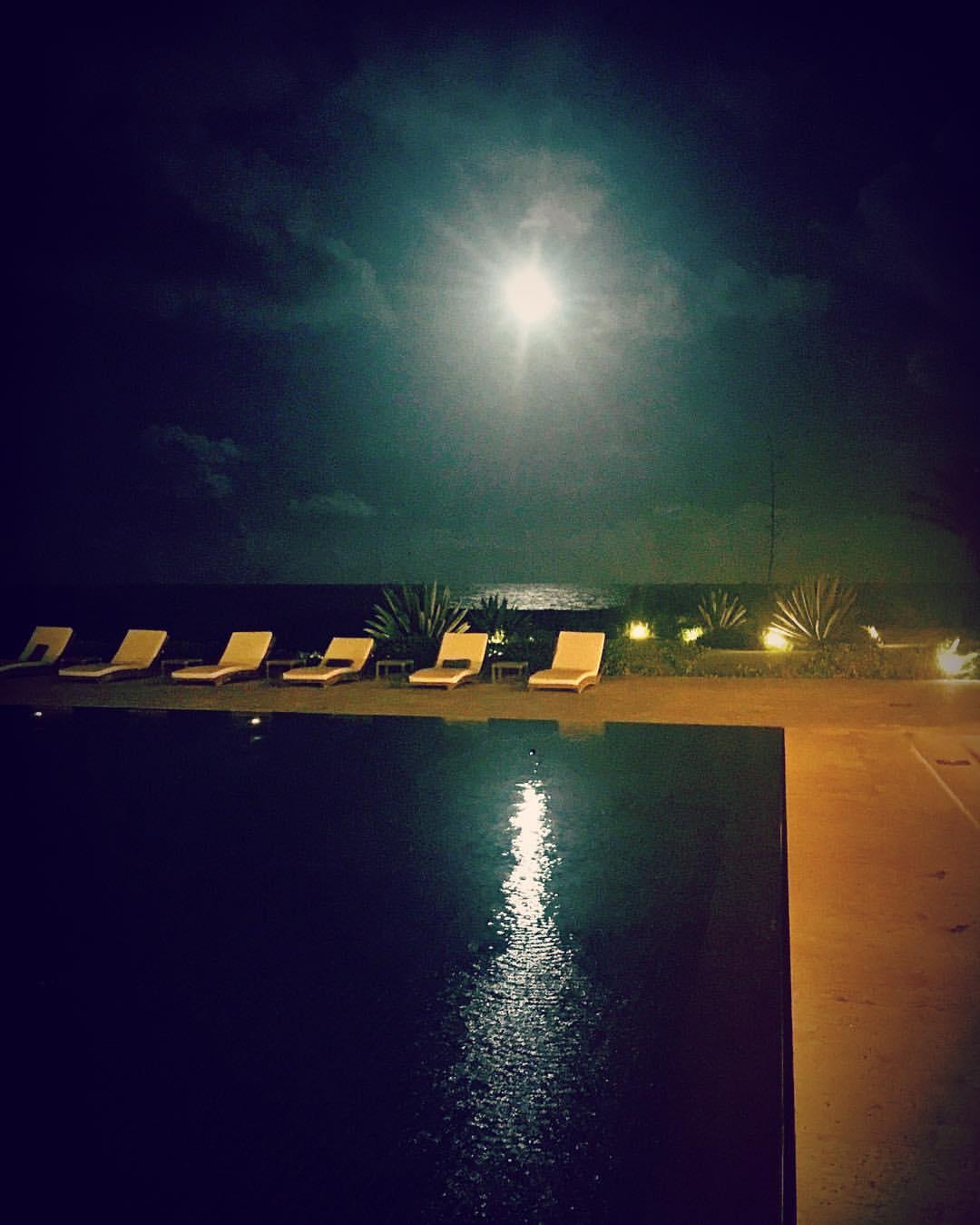 Moonlight 🌙✨✨ after today's #lunareclipse  (at Casa Kimball)