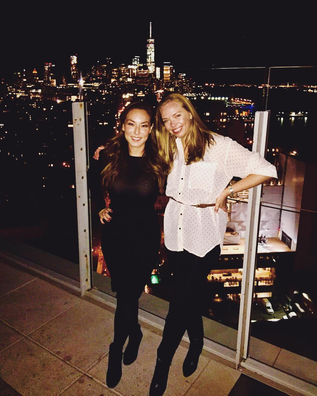We're always ending u on rooftops 🌃💫✨ (at Le Bain at The Standard, High Line)