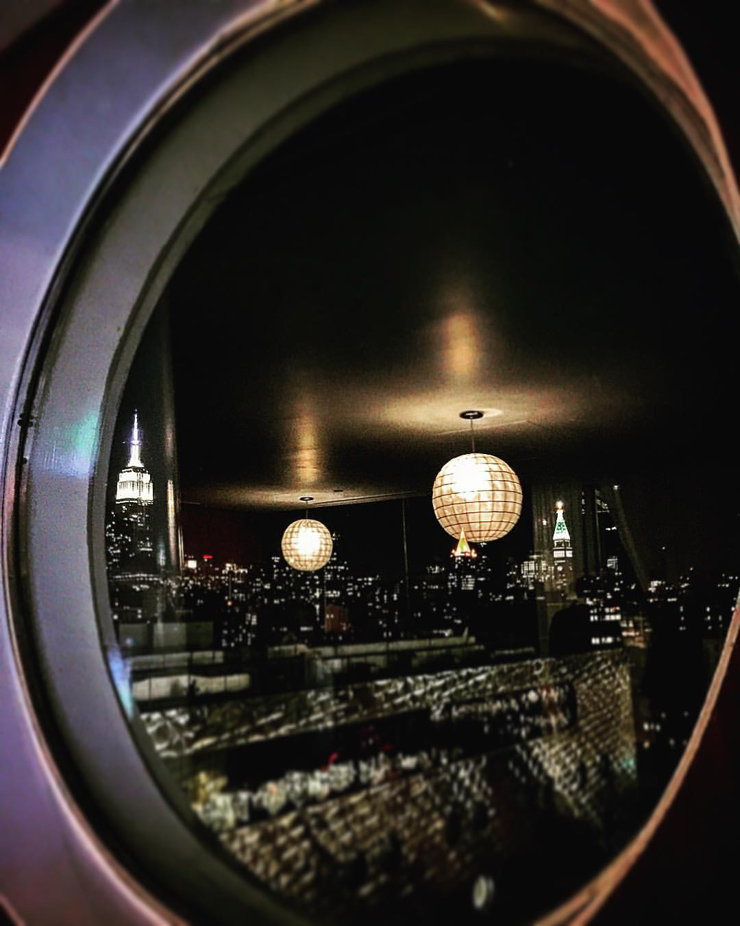 Disco balls rule this city  🌐🌟💎💫  |  #reflections #NYC #penthouse #view #empire #chryslerbuilding #meatpacking #disco #downtown #dream #manhattan #iloveny #openhouseny  (at Dream Downtown)