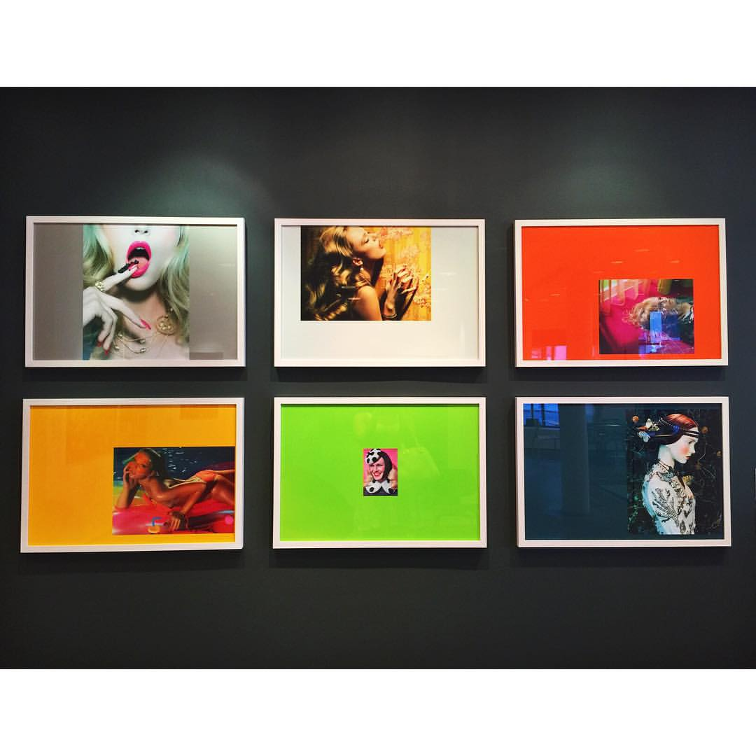 Color combos that will take your breath away 💋😶💚🎨🔥 @milesaldridge  |  #art #shortbreaths #highline #meatpacking #nyc #manhattan #gallery #color #inspo #downtown #chelsea #westvillage #summer #artgallery #style #openhouseny (at The High Line)