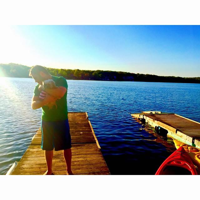 #LakeLife ☀️🏊🎣 @lilbibiboo  (at Masten Lake)