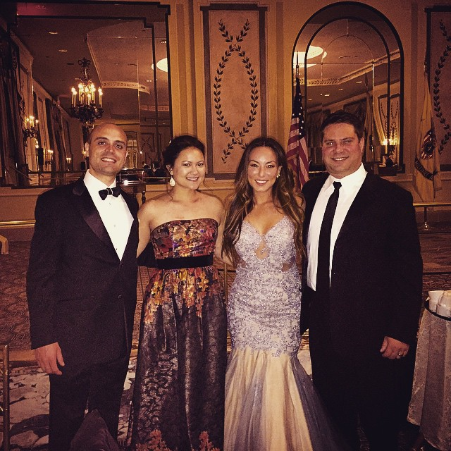 Versaille Gala with Royal Dignitaries @shuie2 @misterchopek  (at The Pierre, A Taj Hotel, New York)