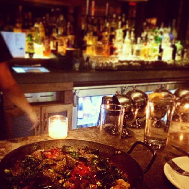 My taste buds might explode over this Paella Langostino #yum (at Toro NYC)