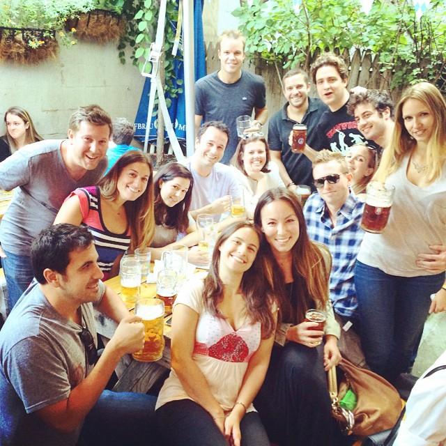 We'll miss u! 😀😔😖 @erbear109  & @drwaldo1021  #SnowVsSunburn (at Loreley Restaurant)