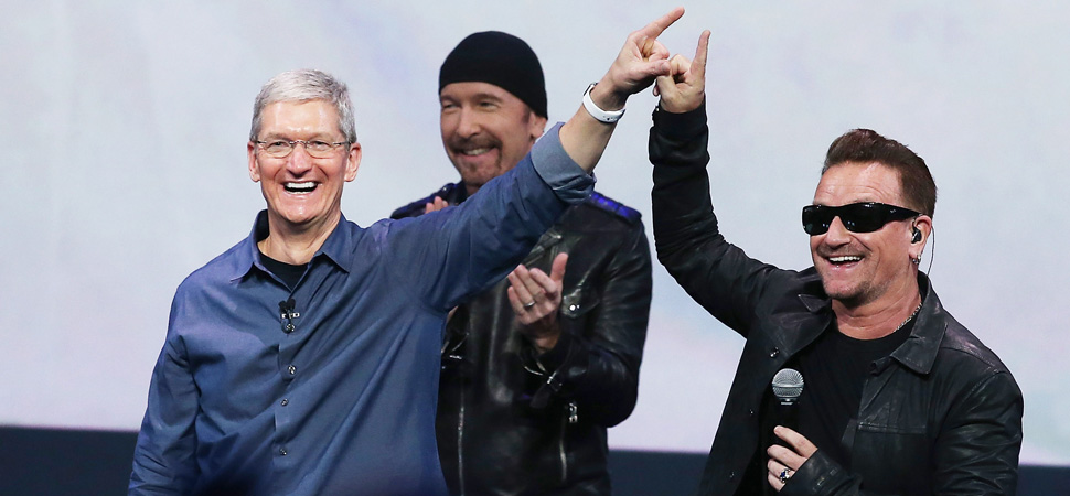 goodideaexchange :      Flawed Freebie: Apple's U2 Stunt Serves as a Cautionary Tale          I liked U2 when they were less into marketing and more into music. - Brandon      Too bad:(